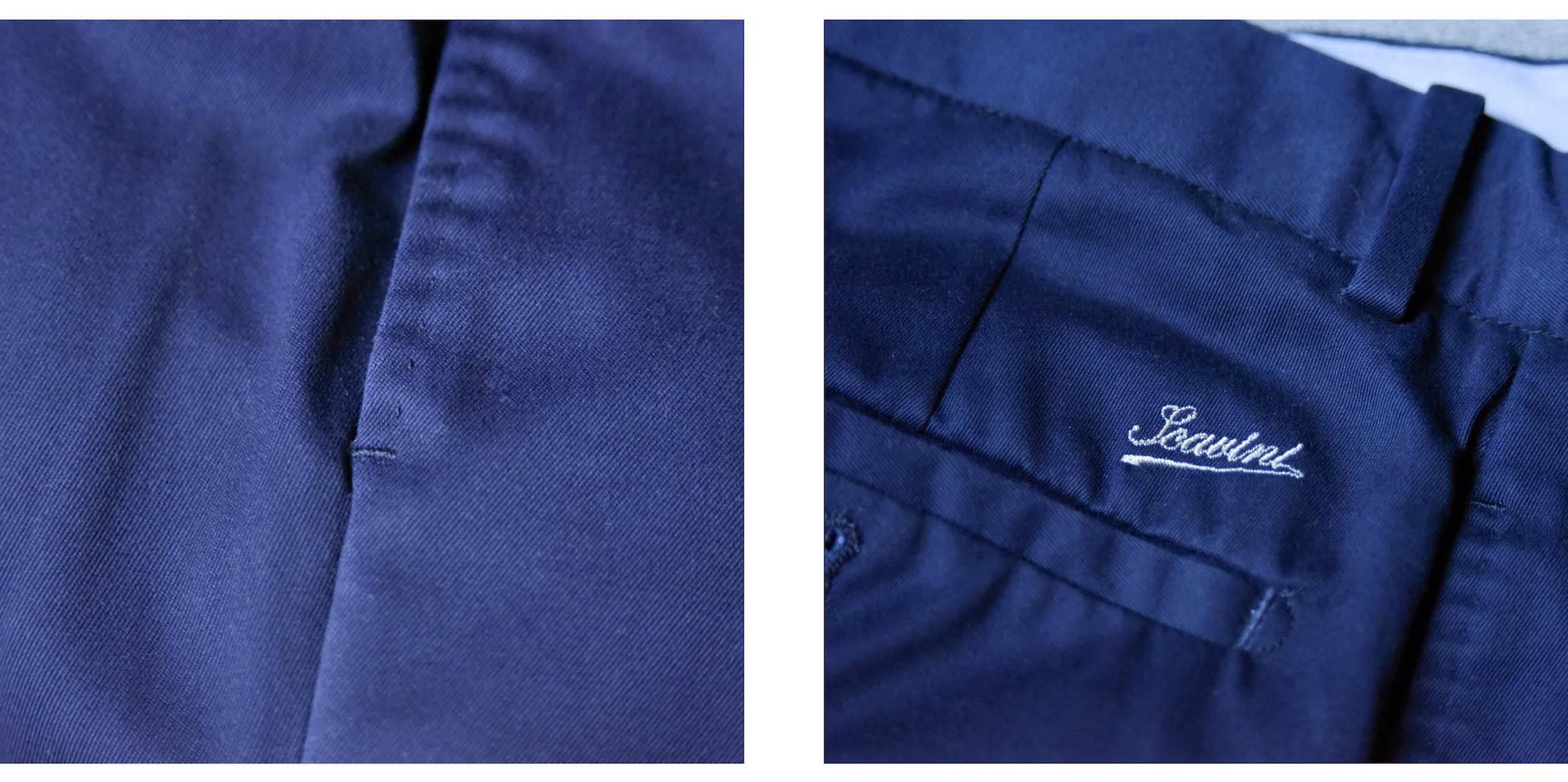 pantalon homme details
