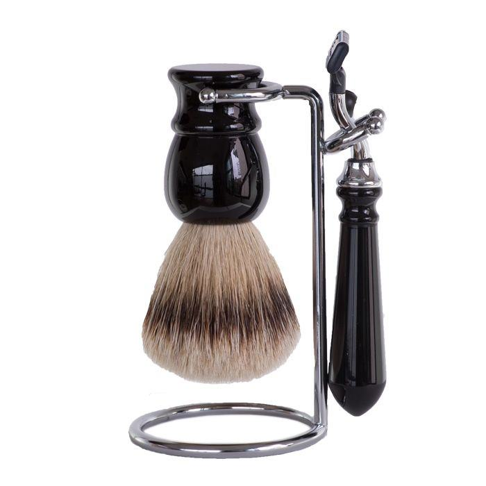 set-de-rasage-noir-3-pieces-rasoir-mach3-selection-rc-ig-3412