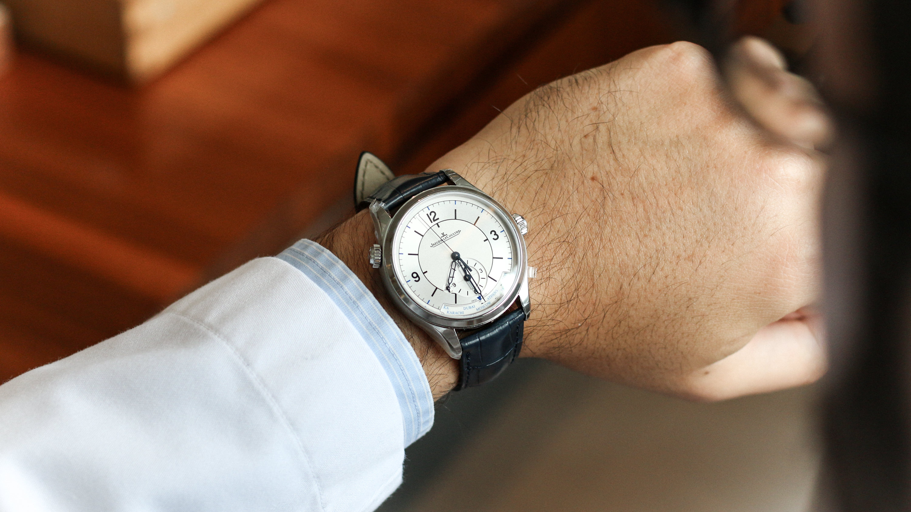 Master Geographic jaeger lecoultre portee wristshot