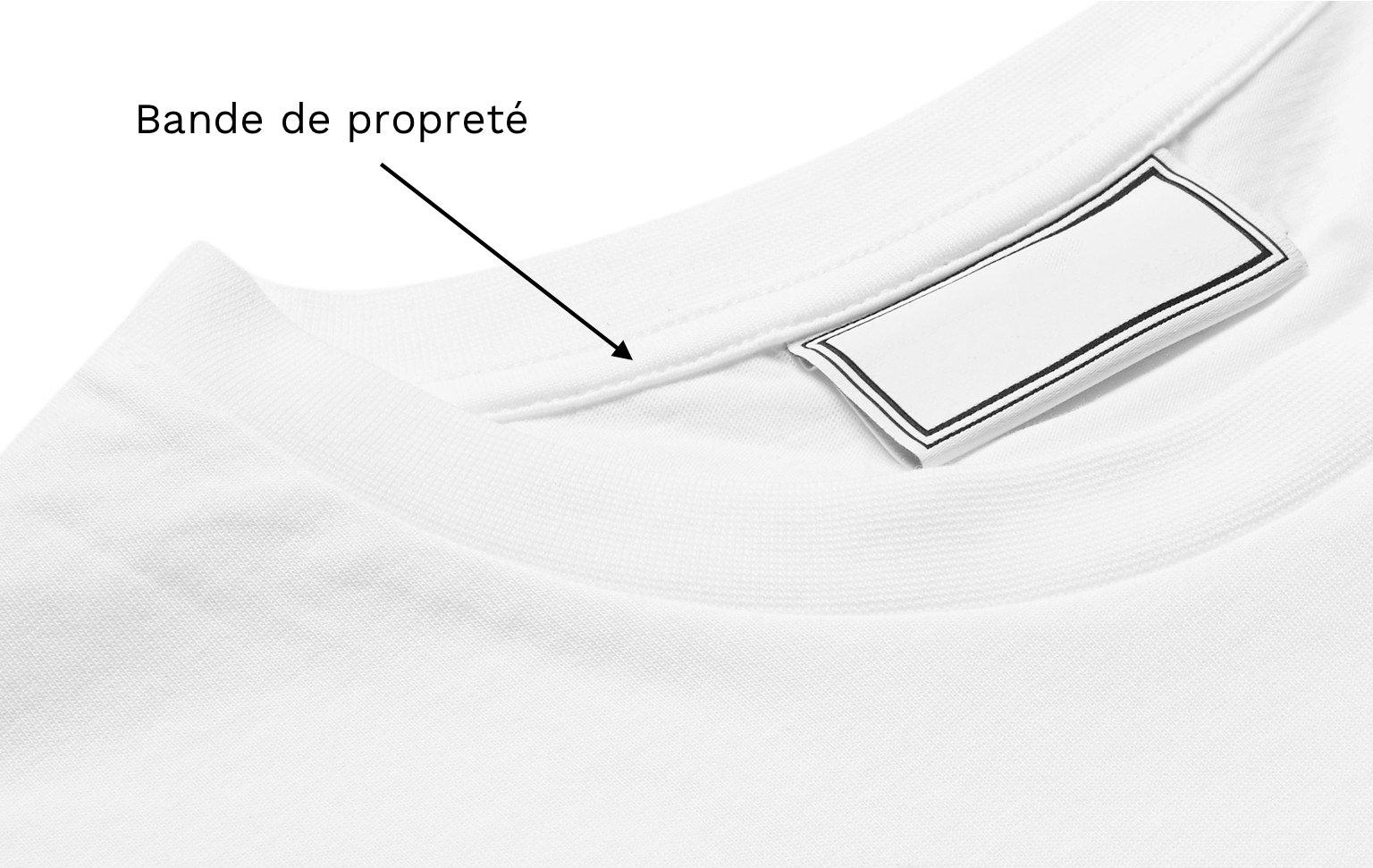 bande de proprete t-shirt