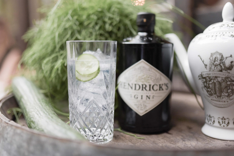 bouteille hendricks gin