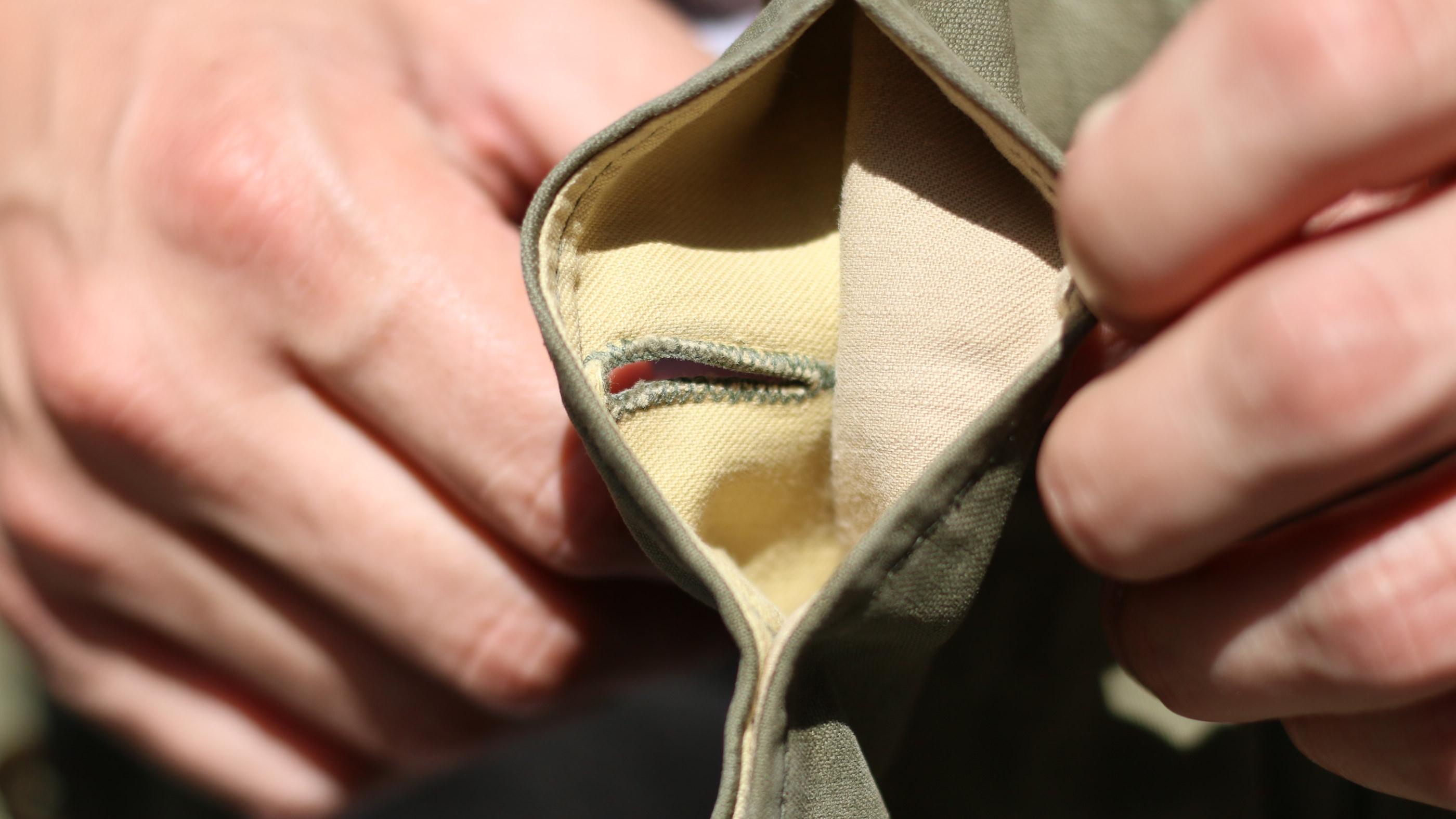 boutonnieres veste m43 m-1943 field jacket