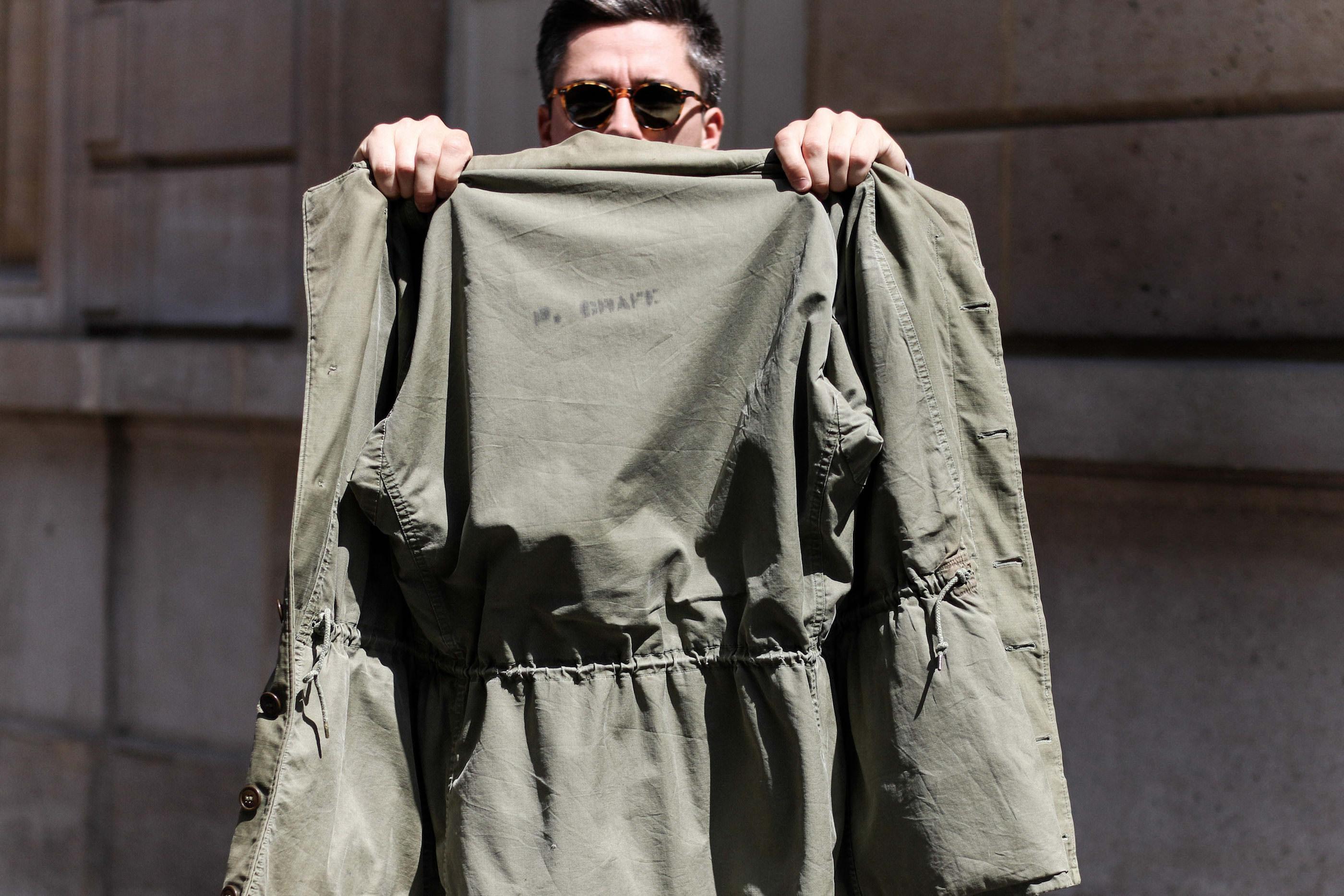 doublure veste m43 m-1943 field jacket