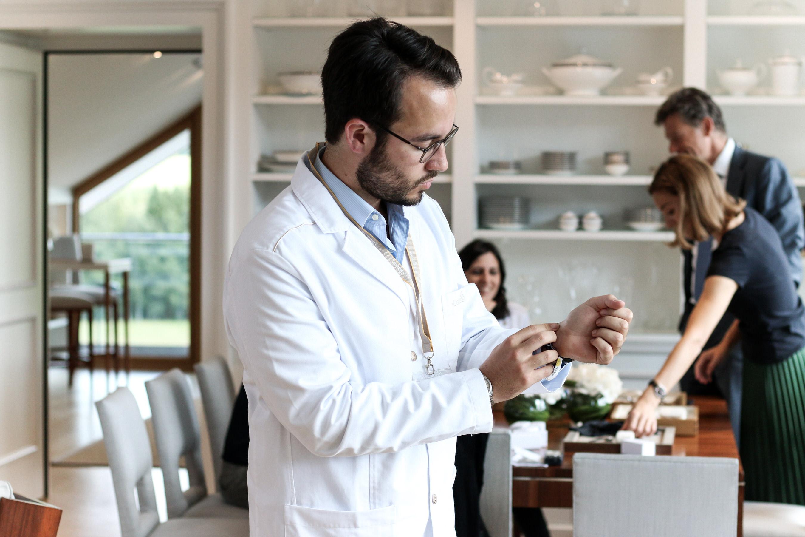 essayage jaeger lecoultre manufacture suisse