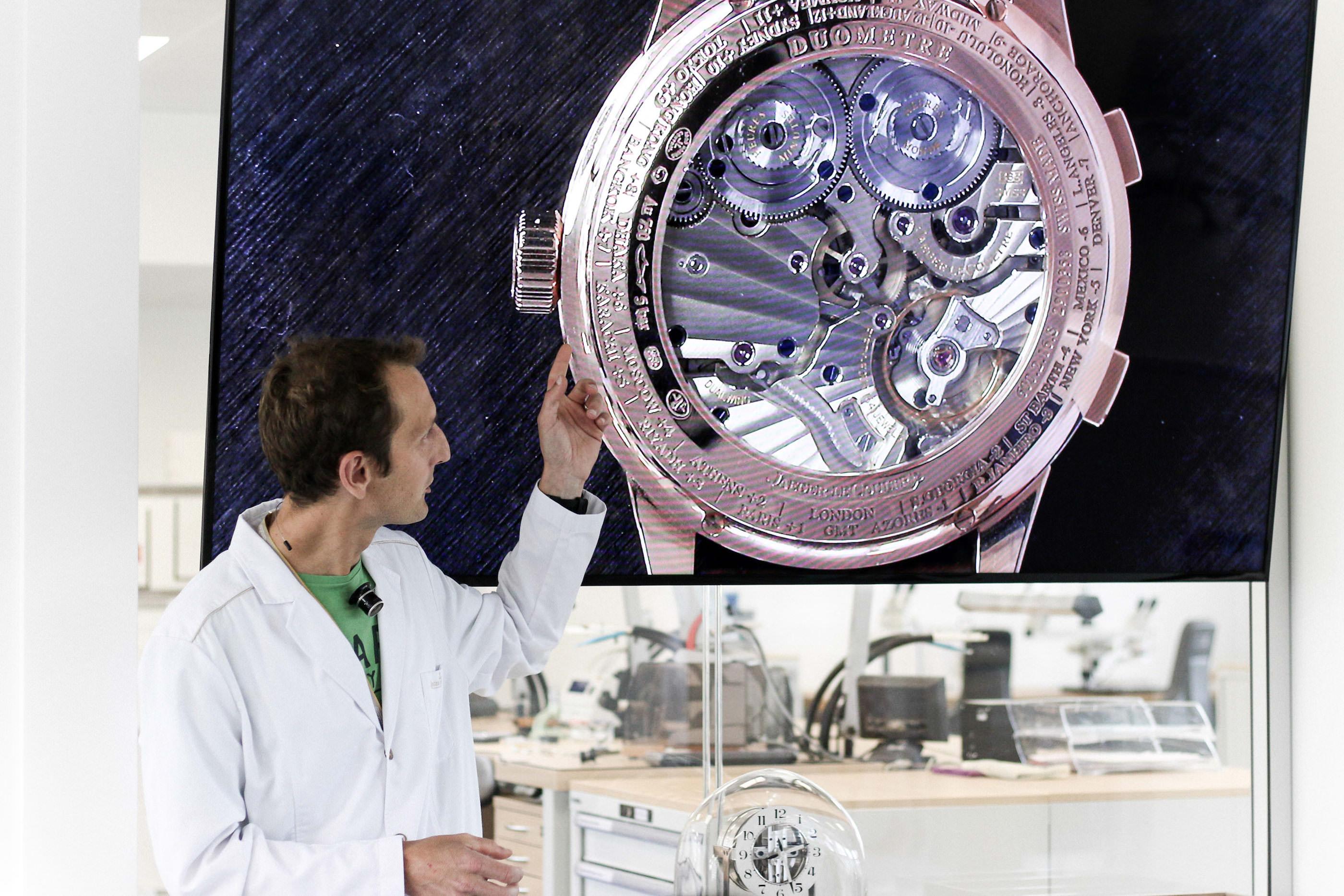 horloger grande complication jaeger lecoultre