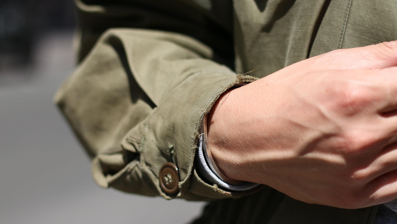 usure military jacket veste homme