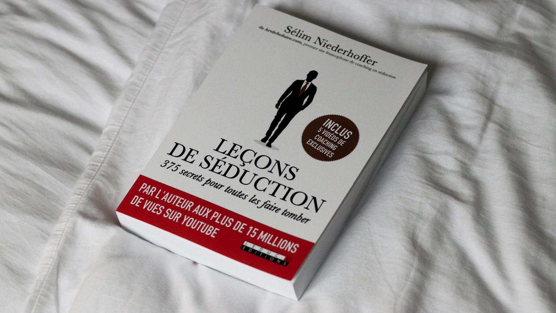 lecons de seduction livre