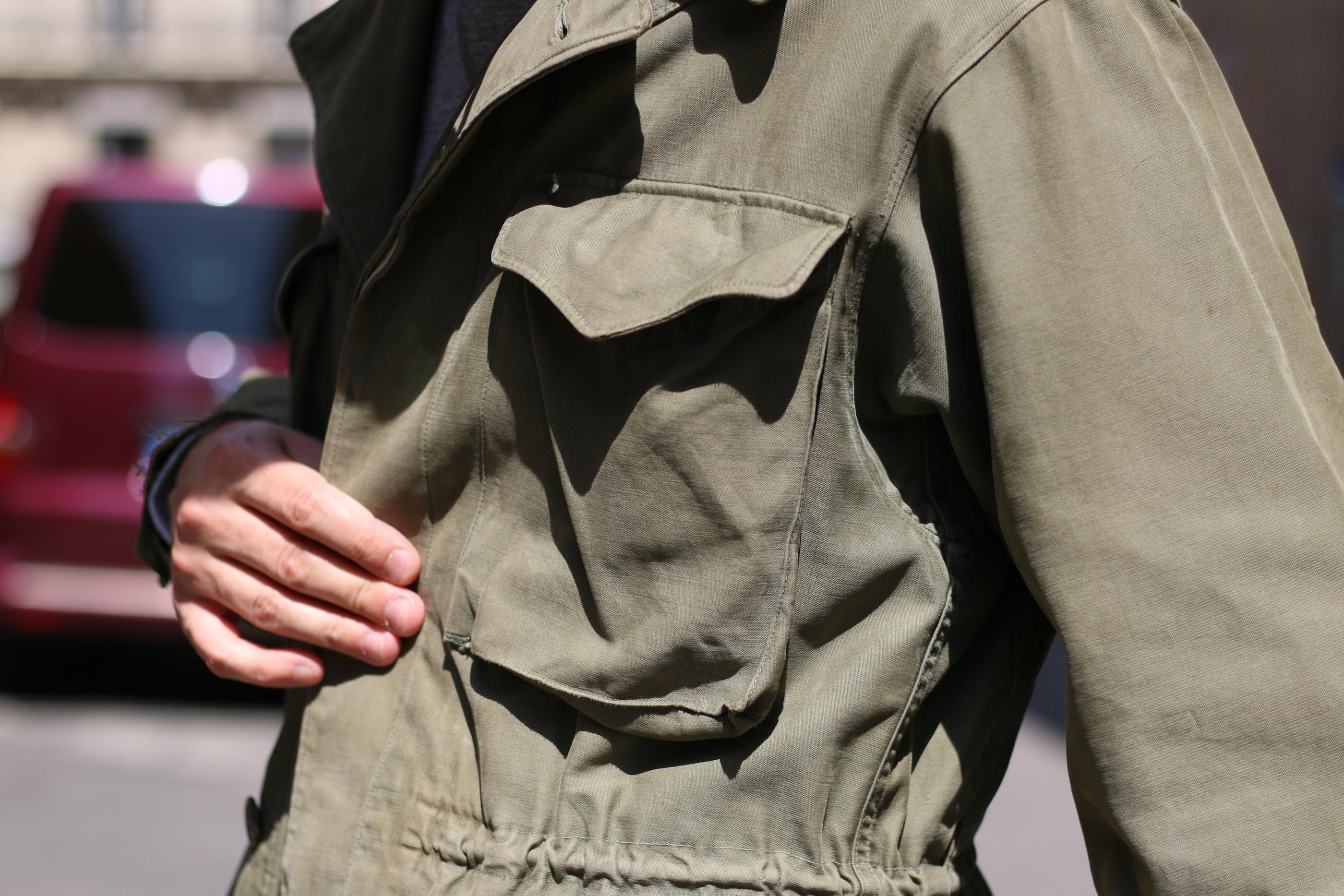 poche plaquée m-1943