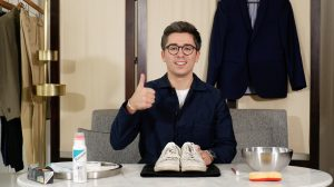 comment nettoyer ses baskets blanches cuir