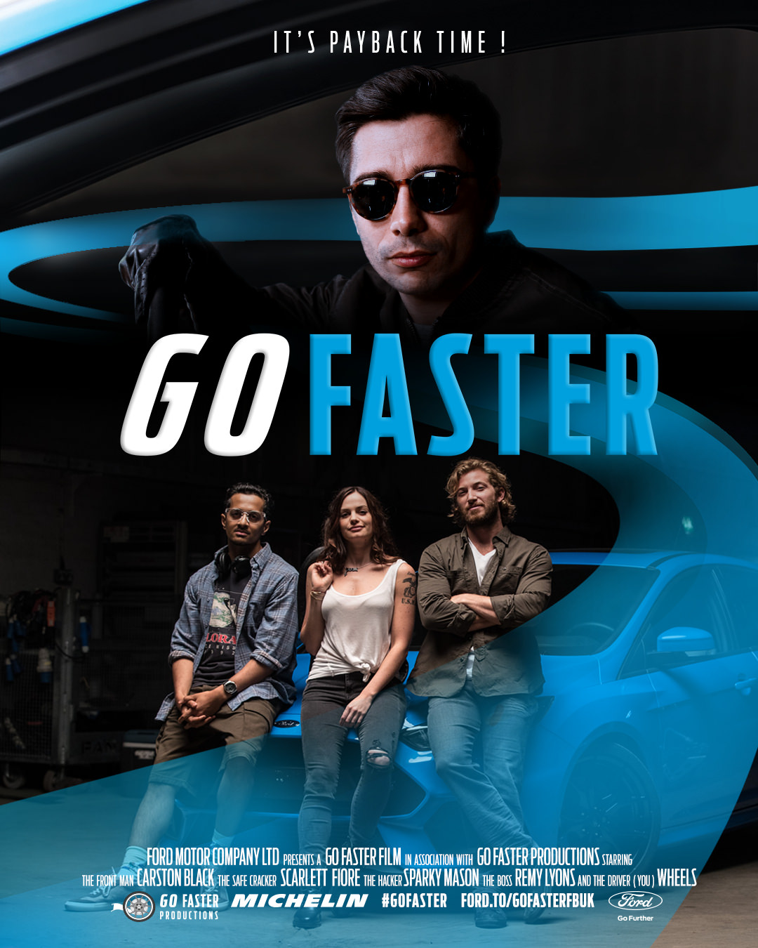 go faster poster
