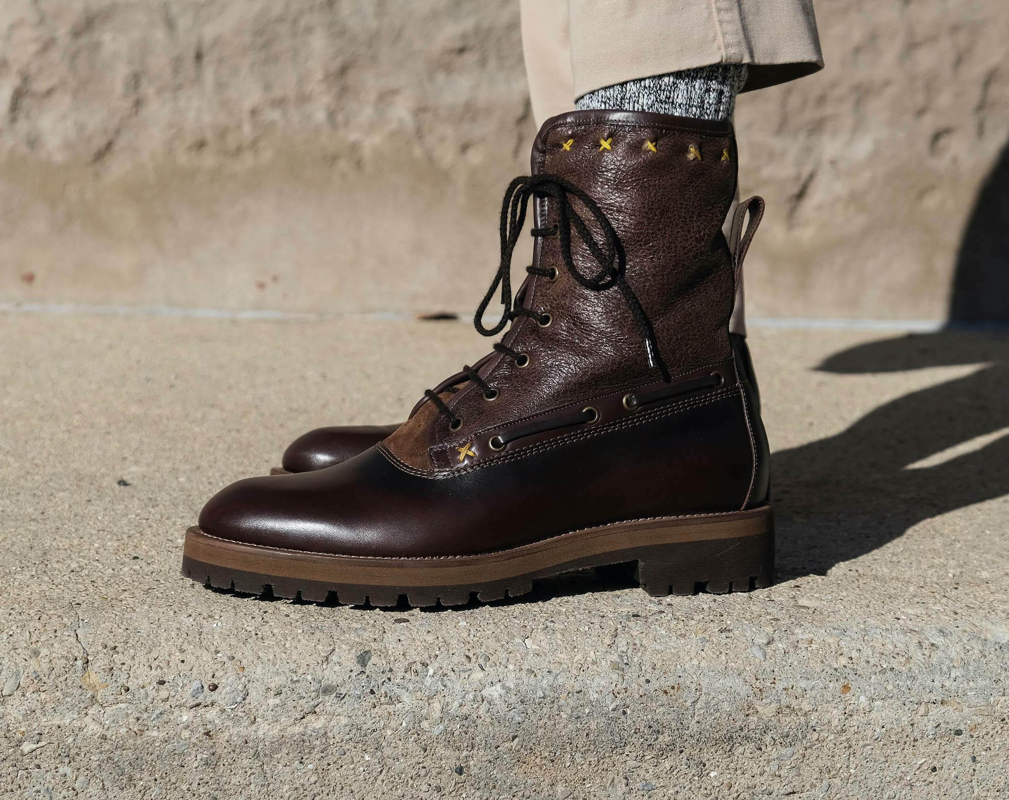 Caulaincourt Verbier tige chaussure homme