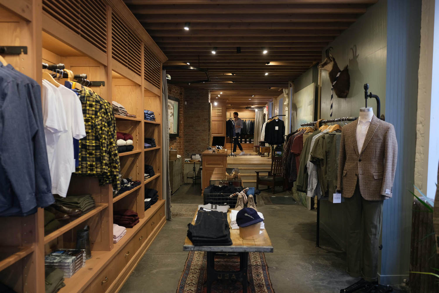 Freemans Sporting Club boutique New york