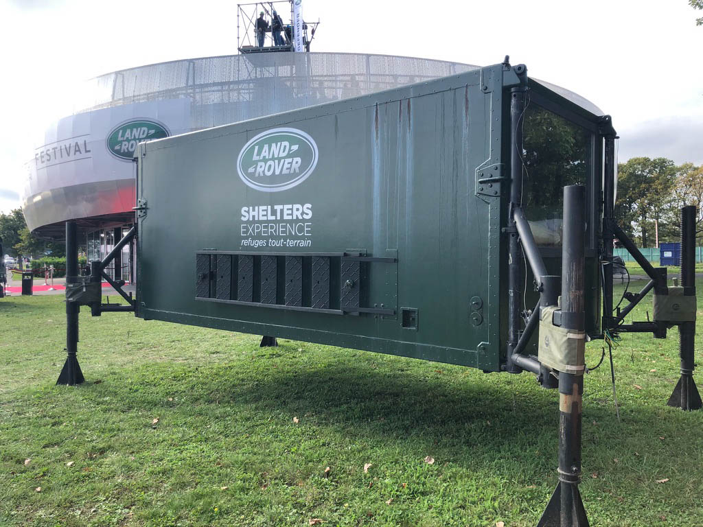 Land Rover Shelters Experience