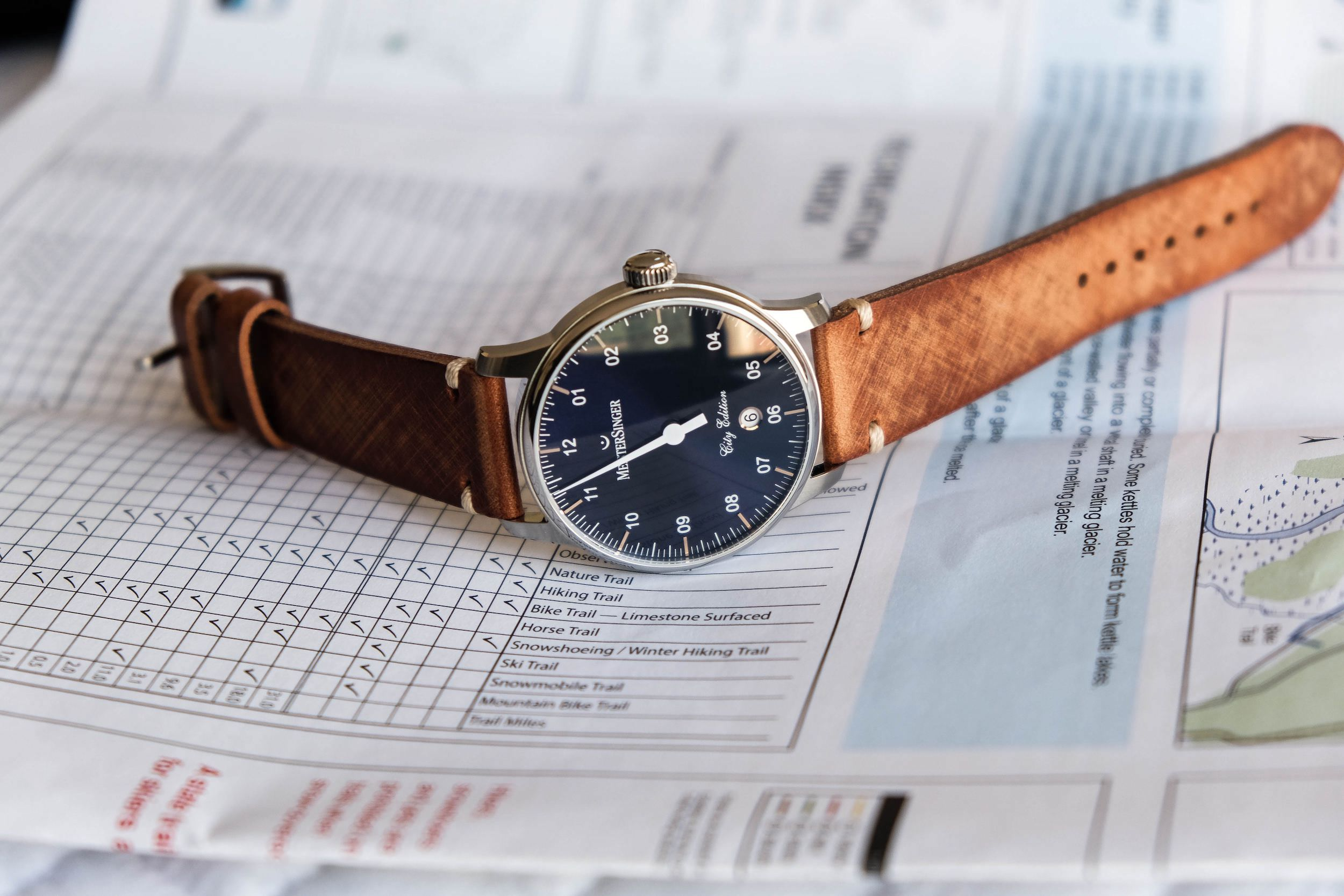 Meistersinger City Edition Paris cadran
