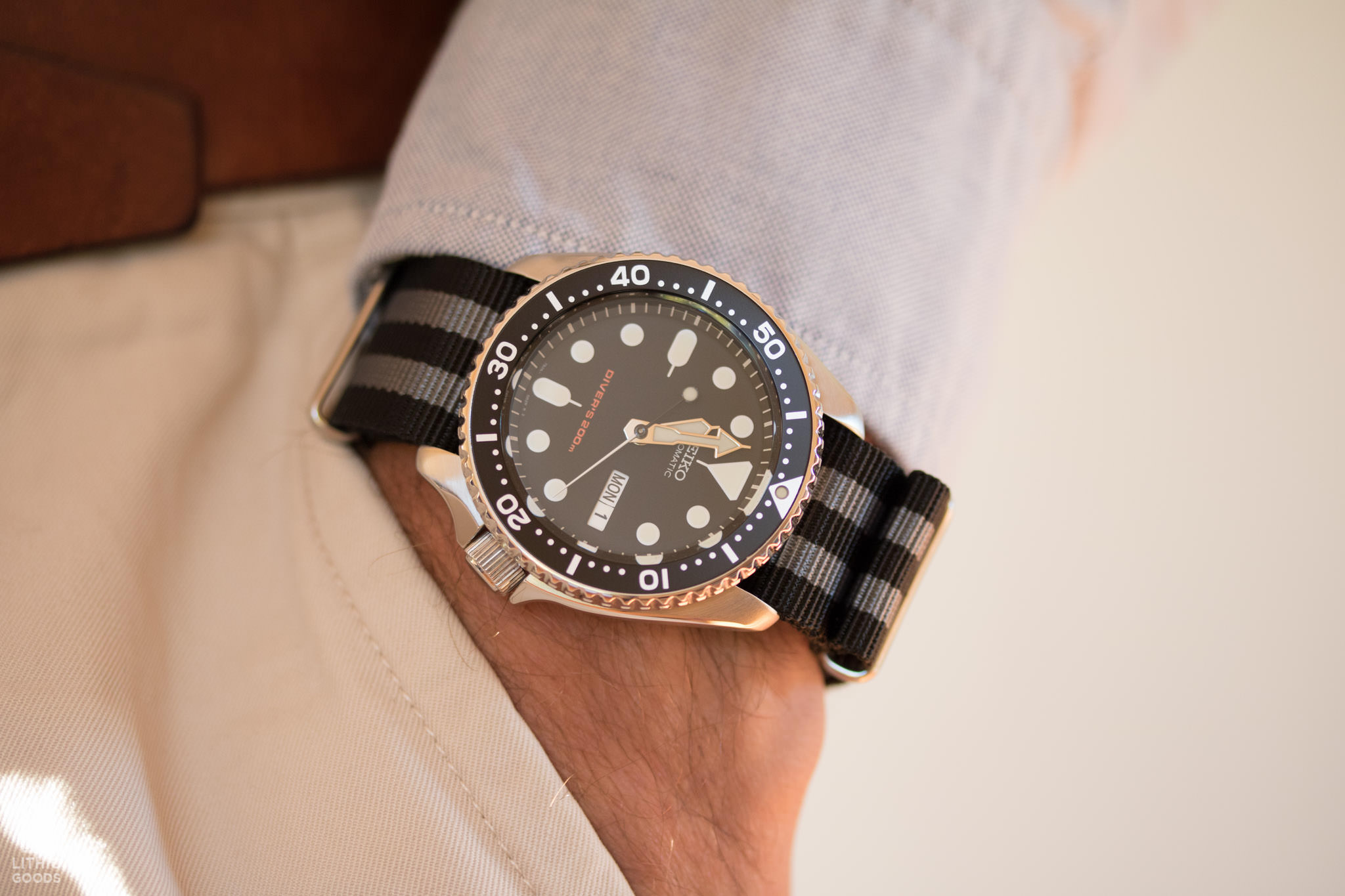 Seiko SKX007 automatique