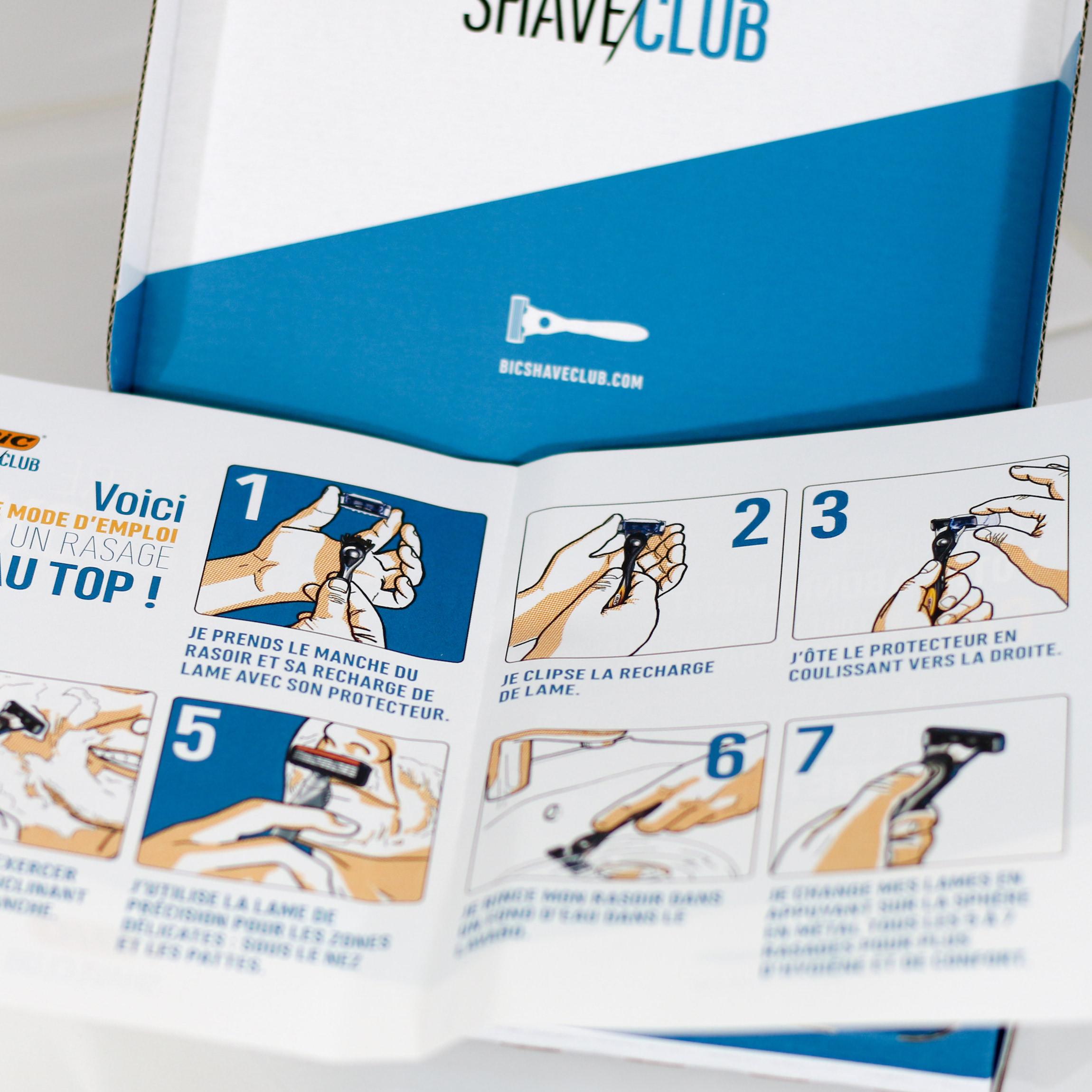 bic shave club box