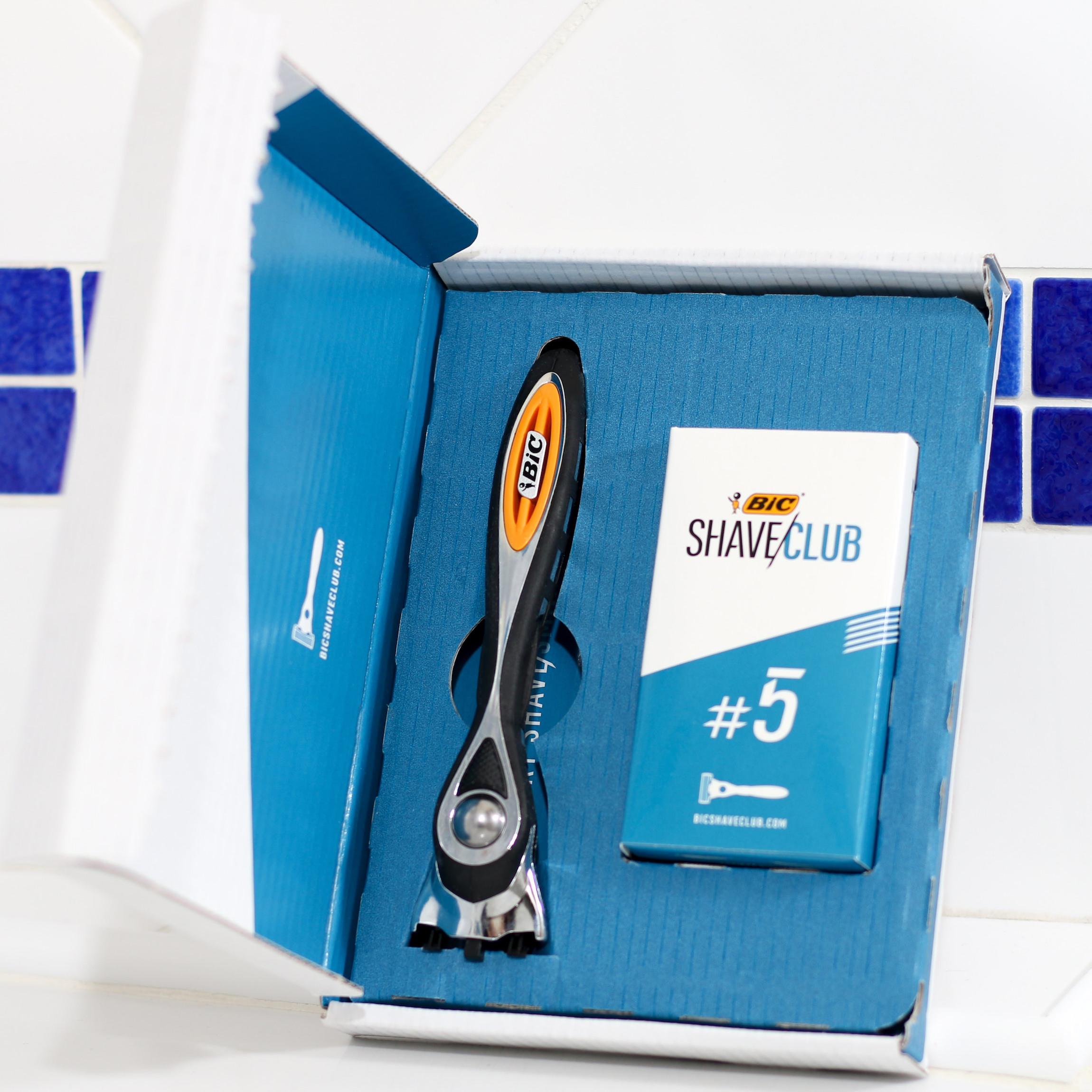 box bic shave club rasoir abonnement