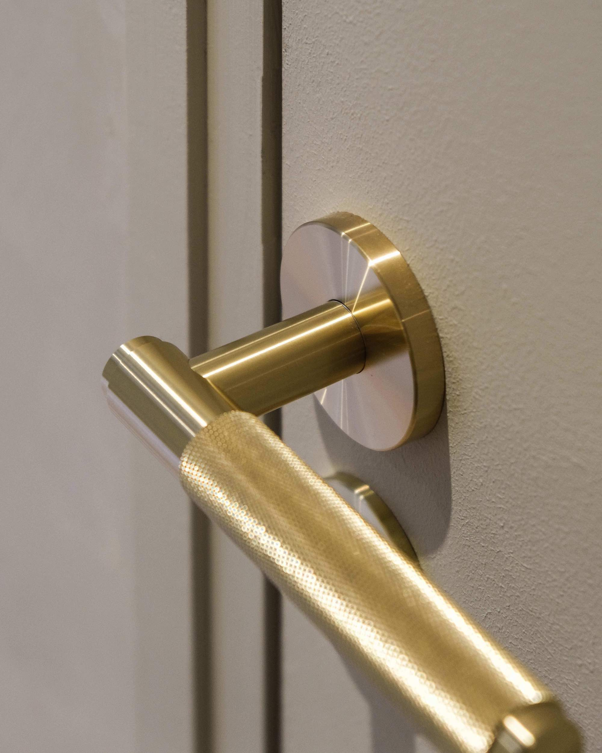 buster and punch door lever