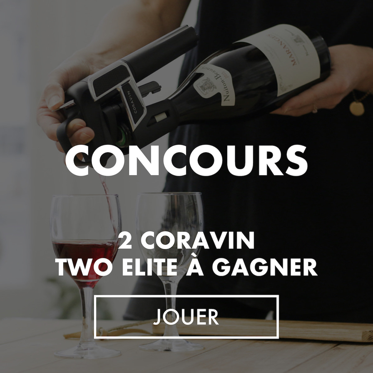 coravin concours sidebar home