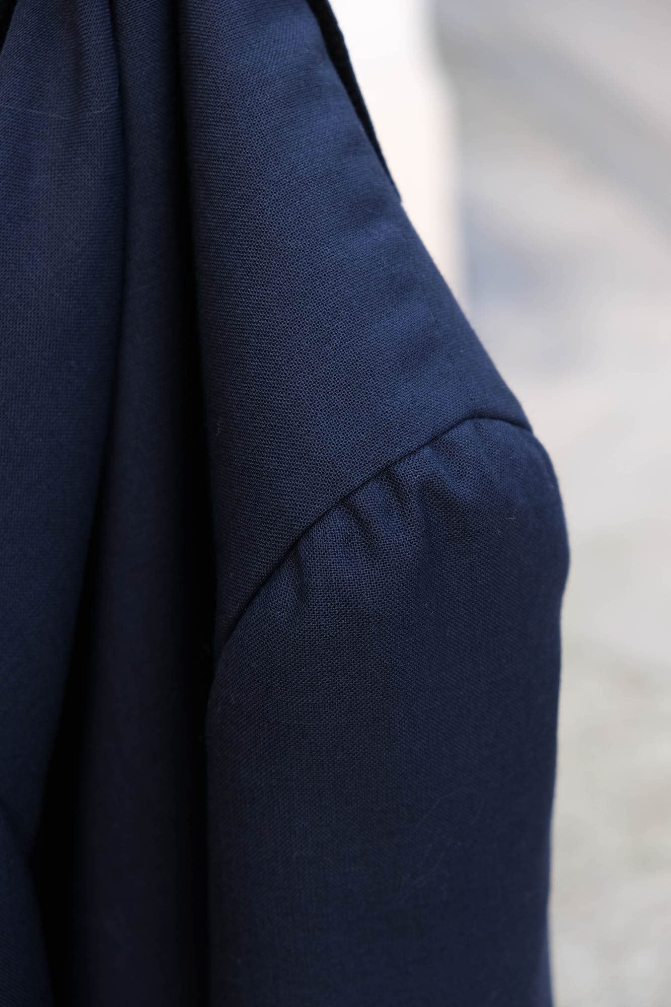 detail tete de manche costume les francs tireurs