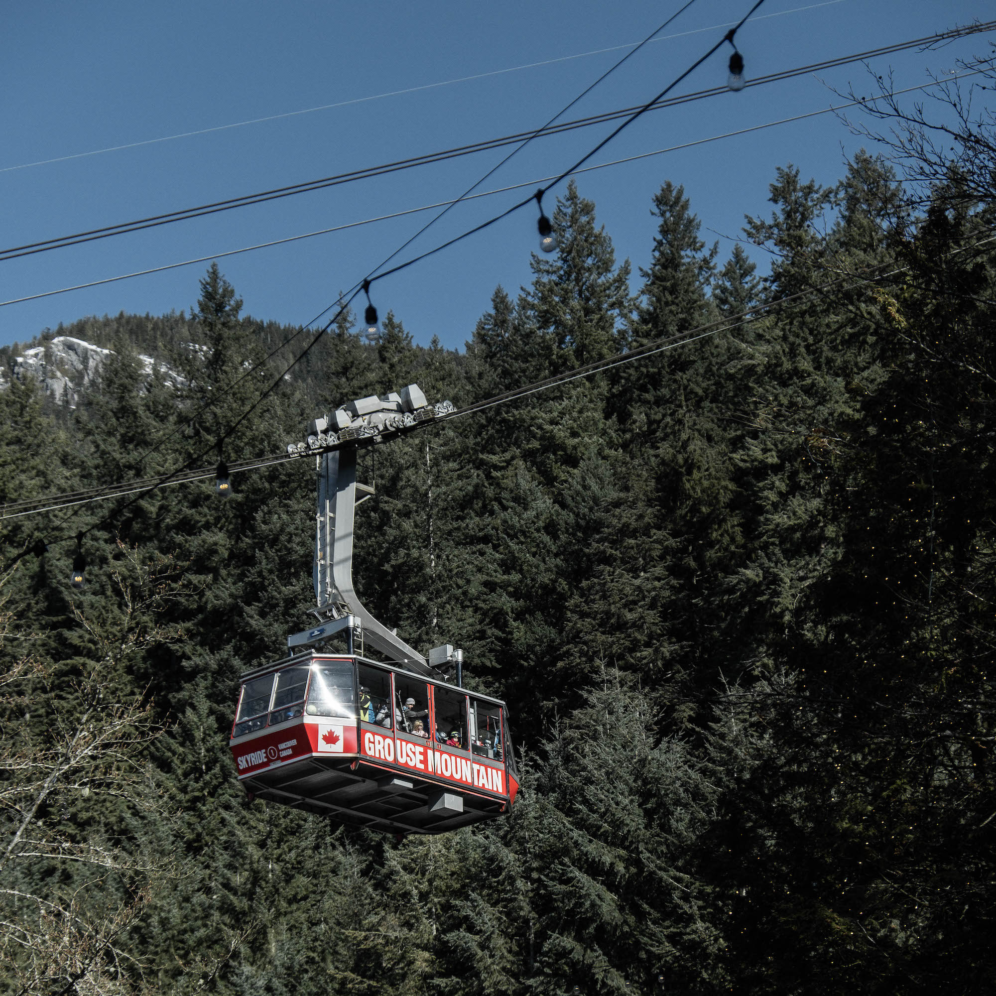 grouse moutain skyride