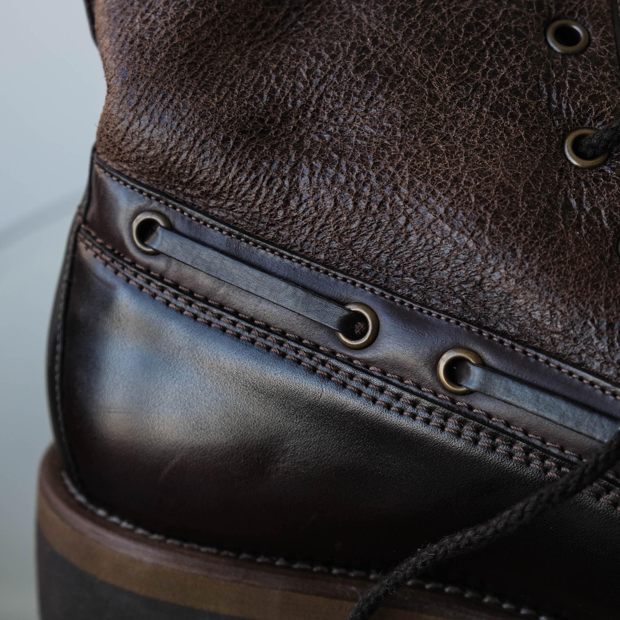 lacets type chaussures bateau sur Caulaincourt Verbier