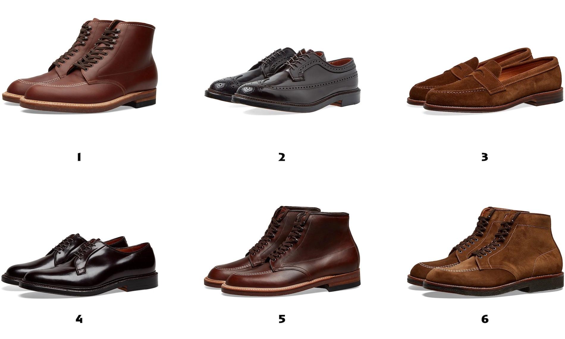 meilleures chaussures alden pour homme