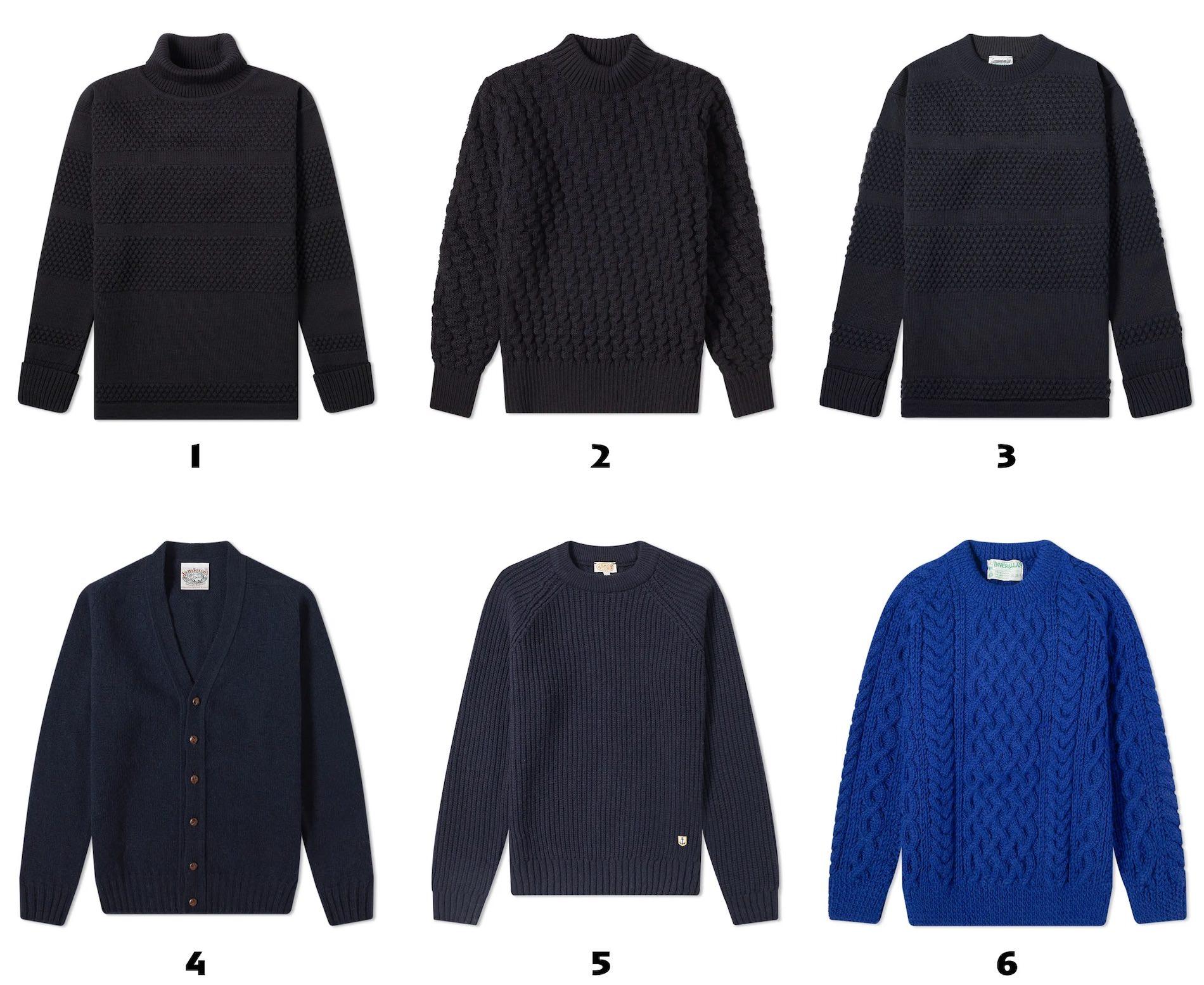 selection pulls bleu laine pour homme