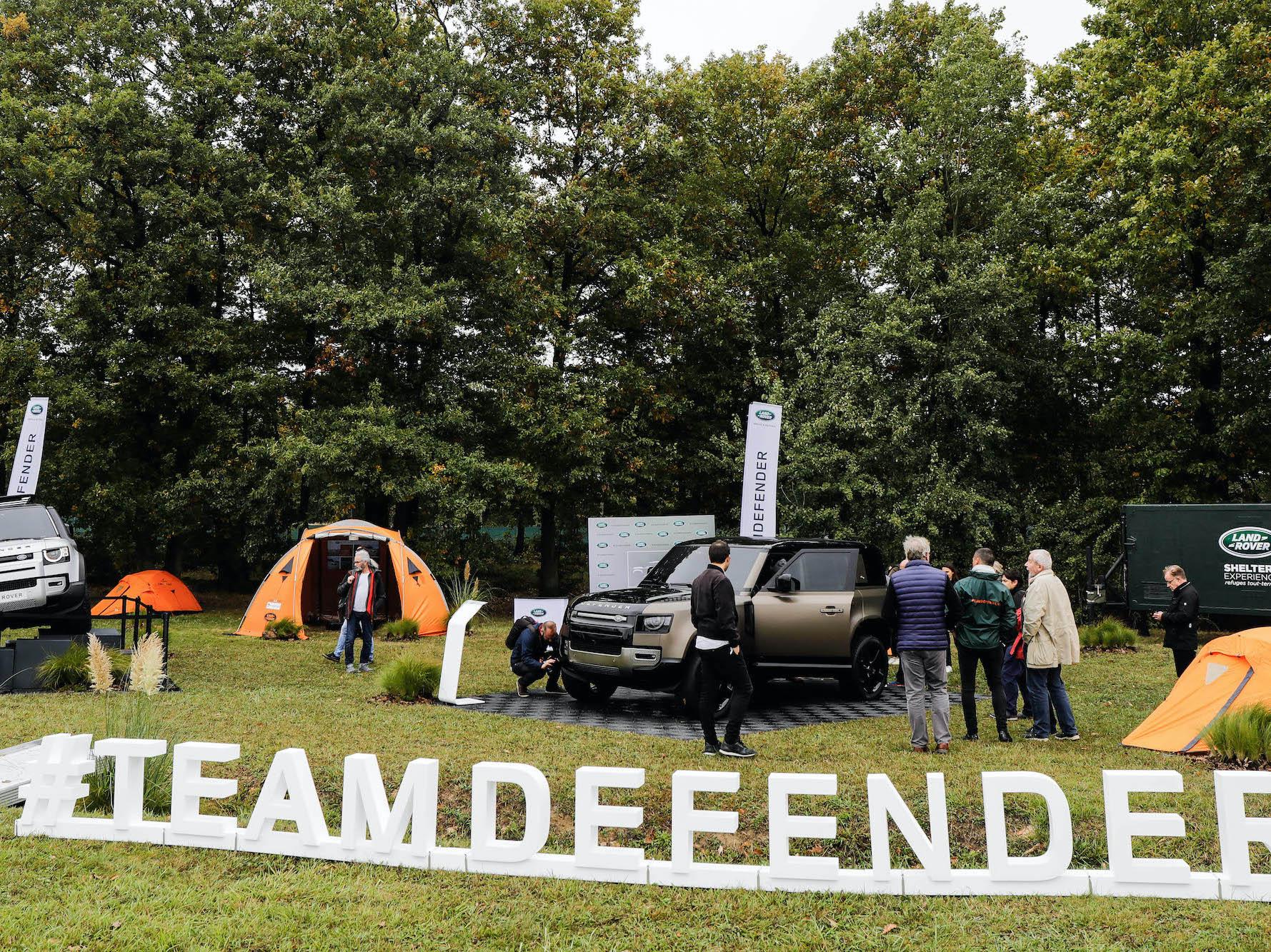 #teamdefender JLR Festival 2019 France