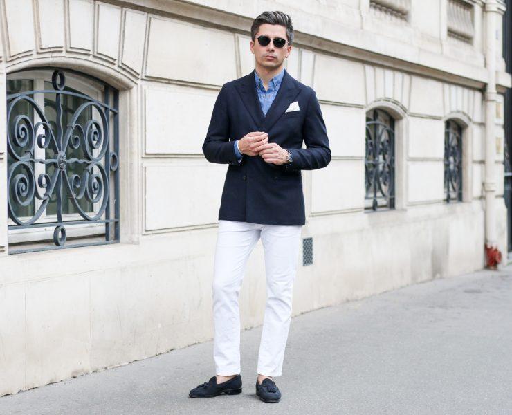 veste swann oscar sur mesure