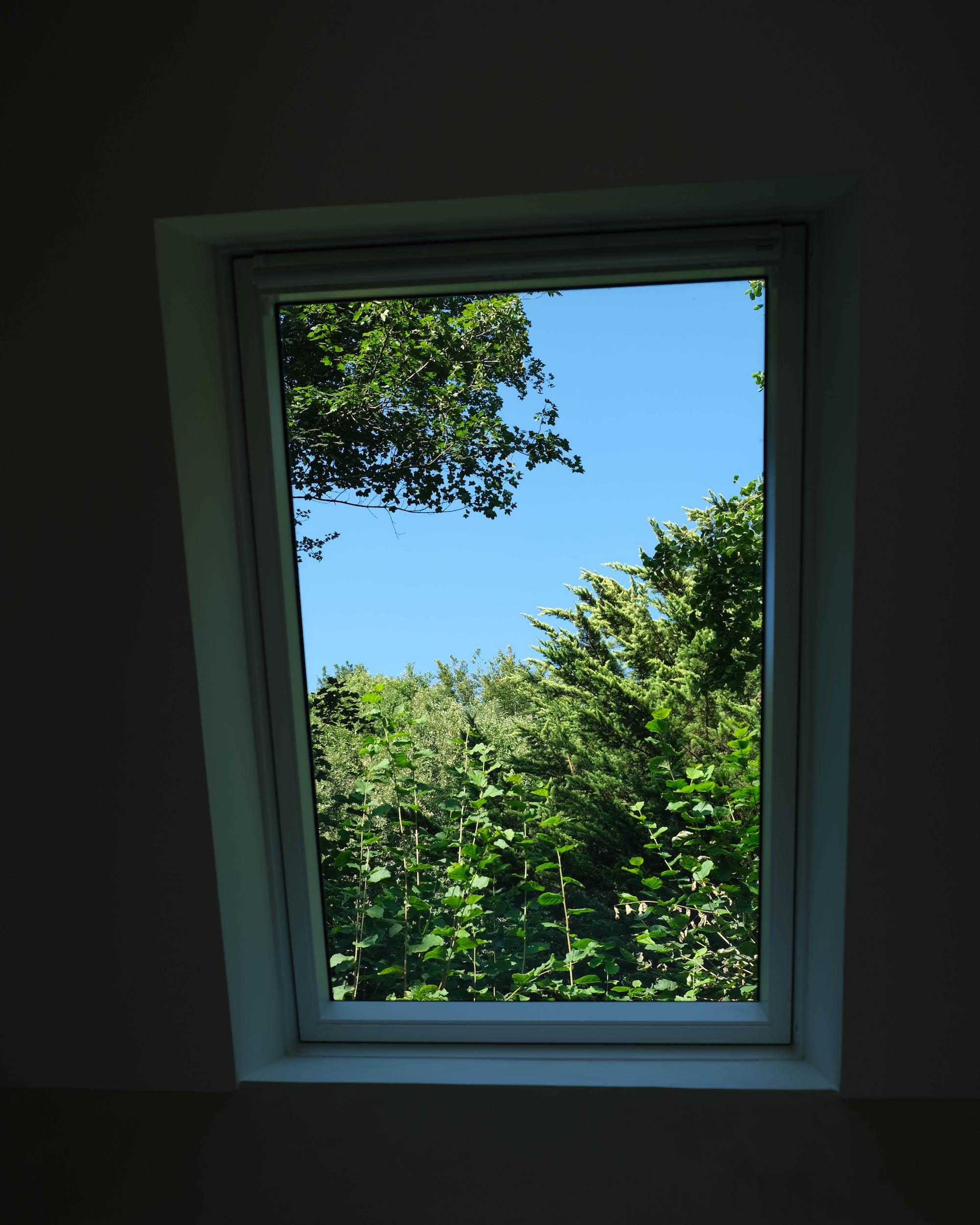 vue velux fenetre de toit