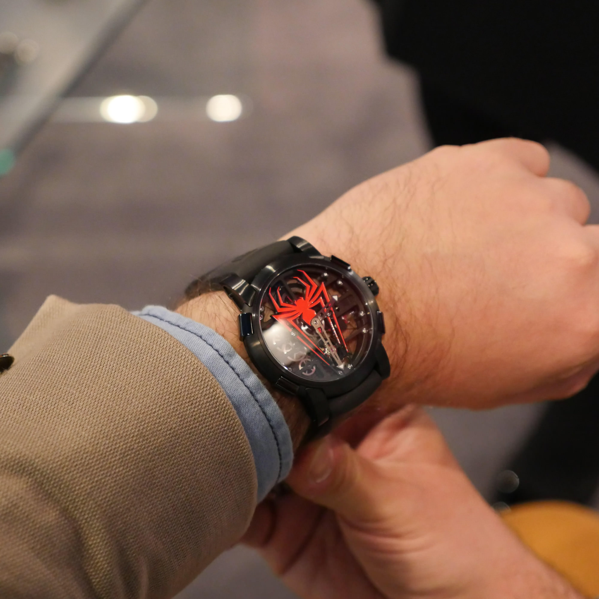 Skylab Spiderman sihh 2018 rj romain jerome