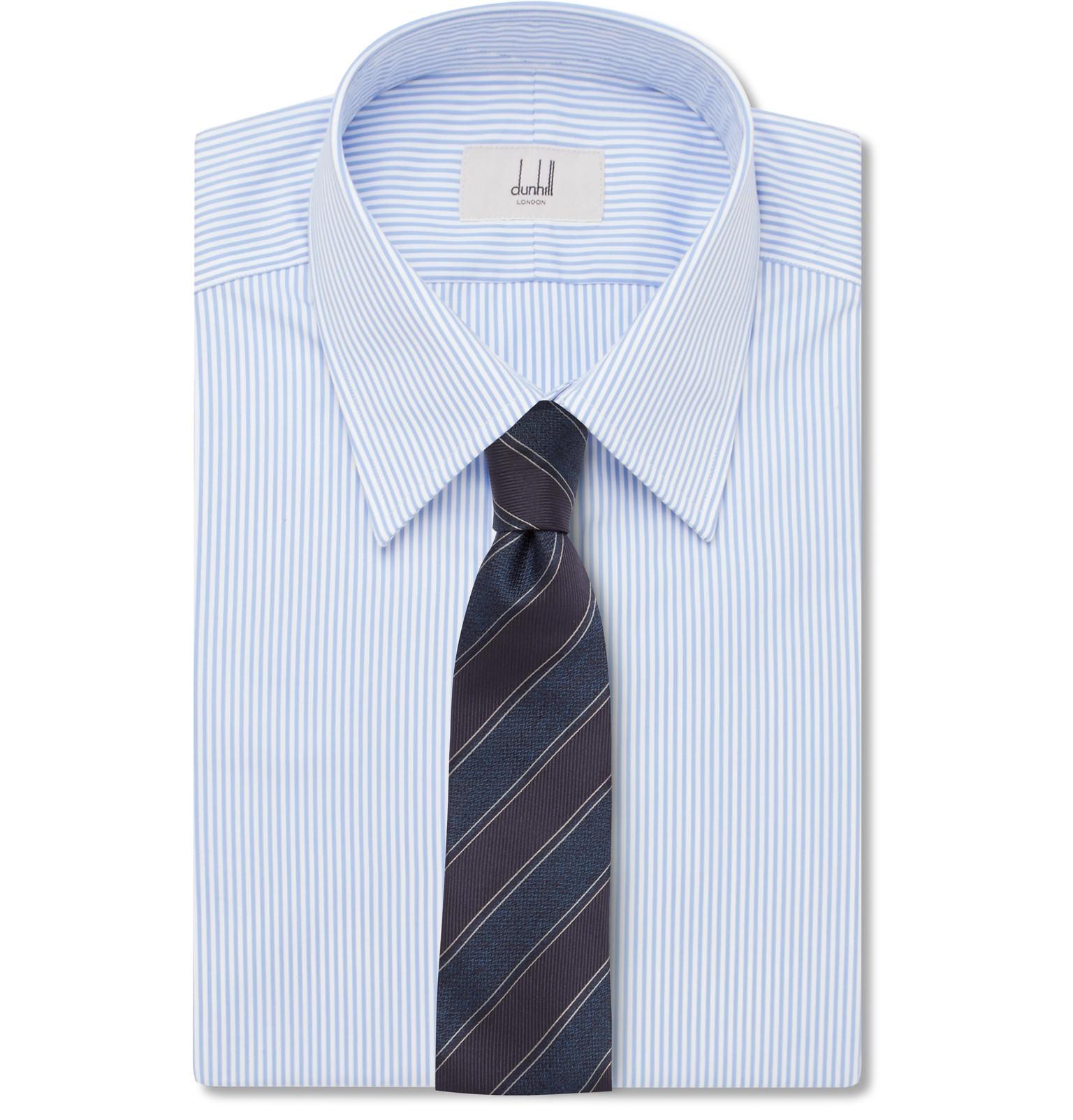 chemise rayee cravate rayee