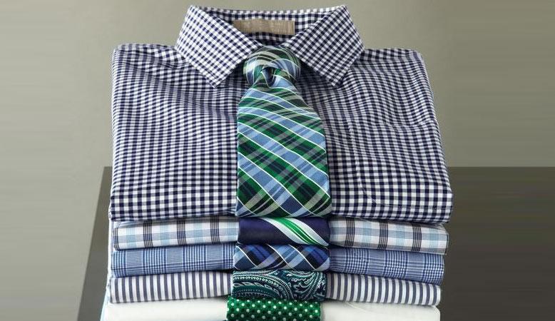 choisir cravate chemise a carreaux
