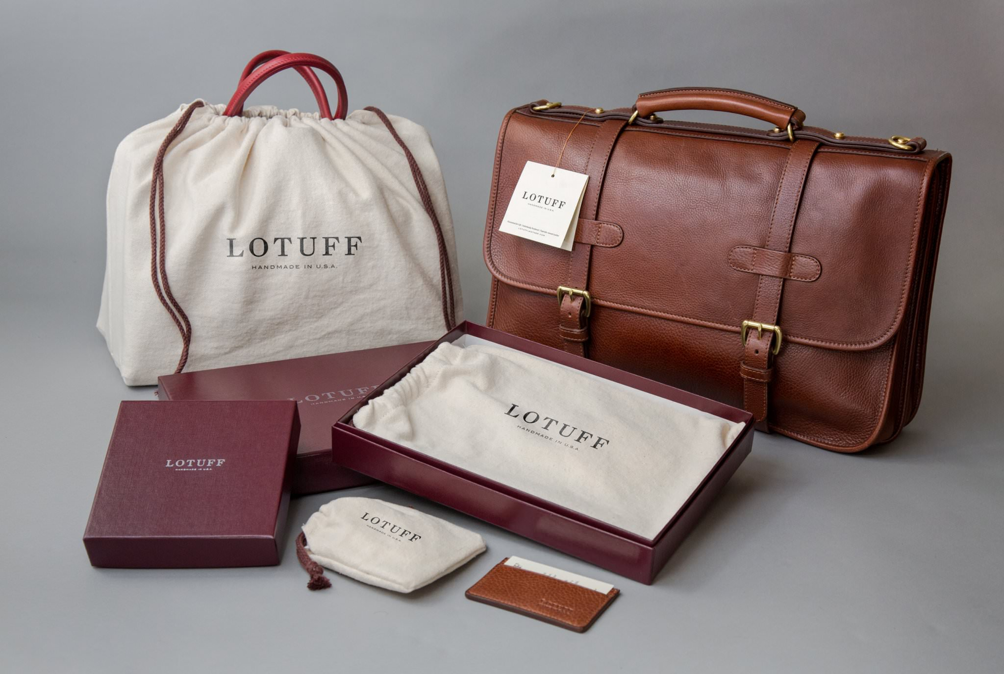 lotuff sac homme