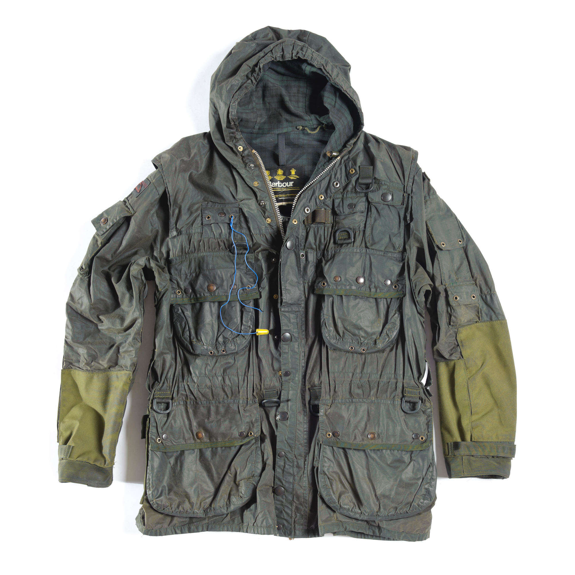 veste durham barbour personnalisee capitaine Mick Cotton