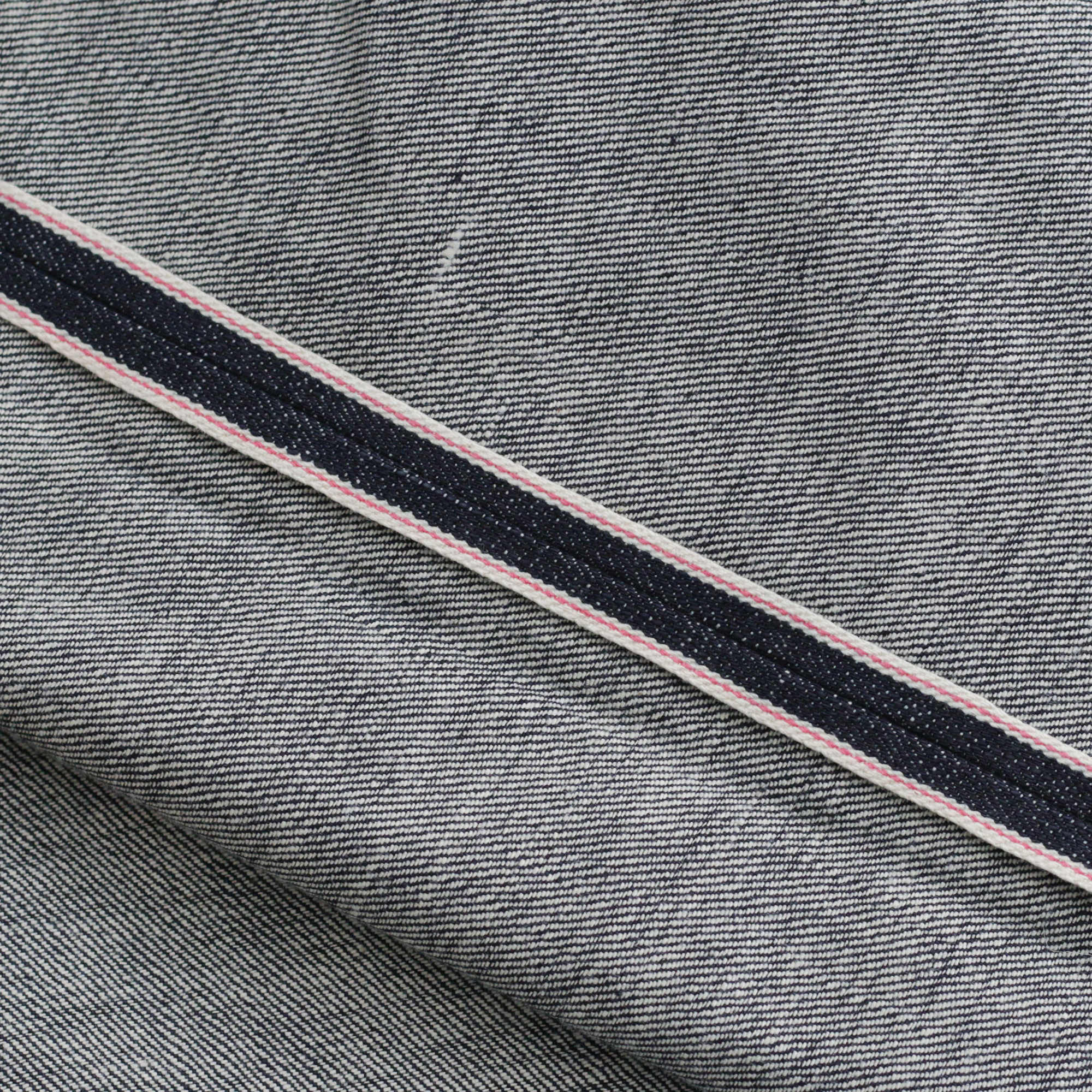 lisere rouge jean selvedge denim
