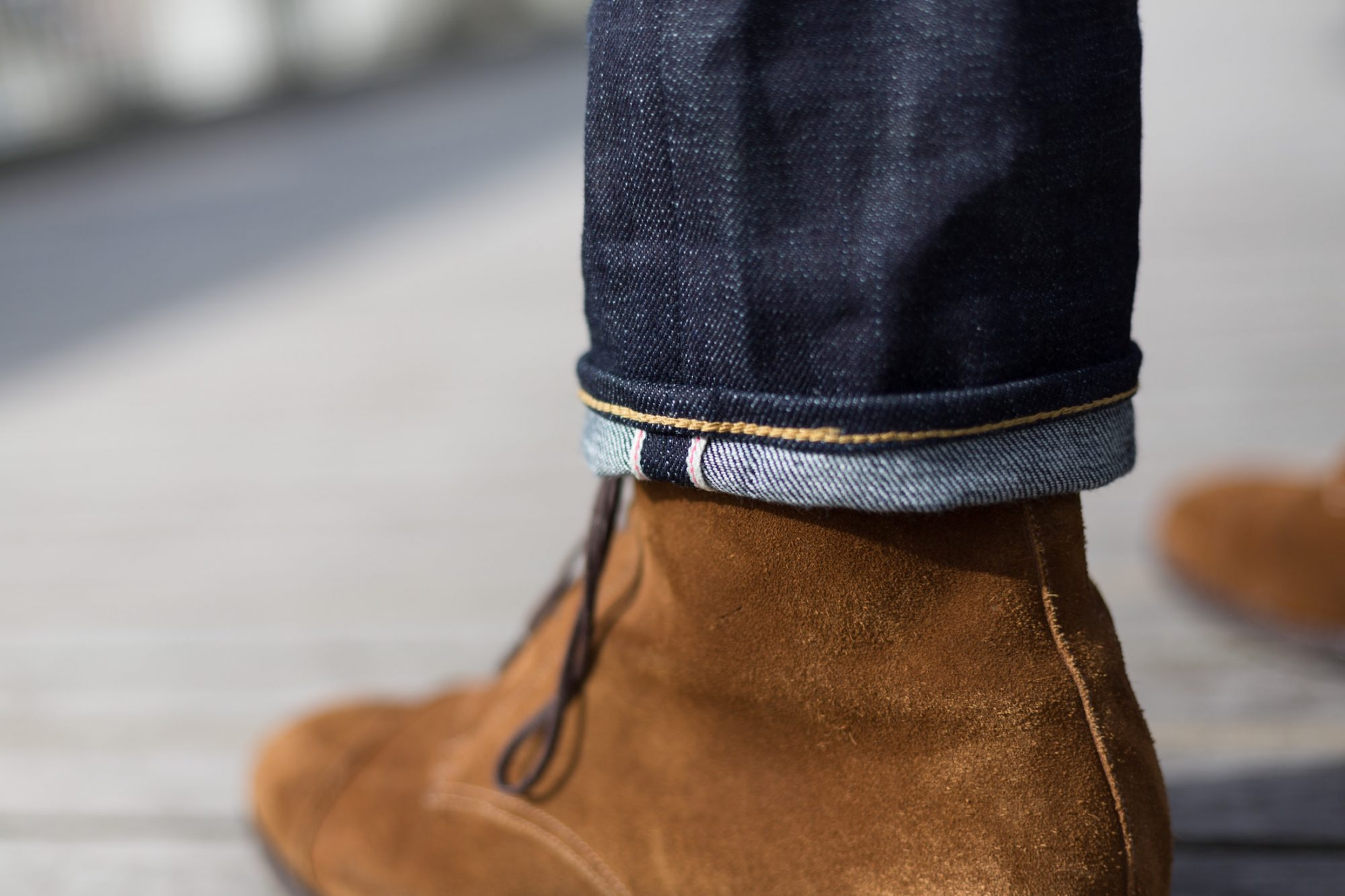 ourlet jean selvedge