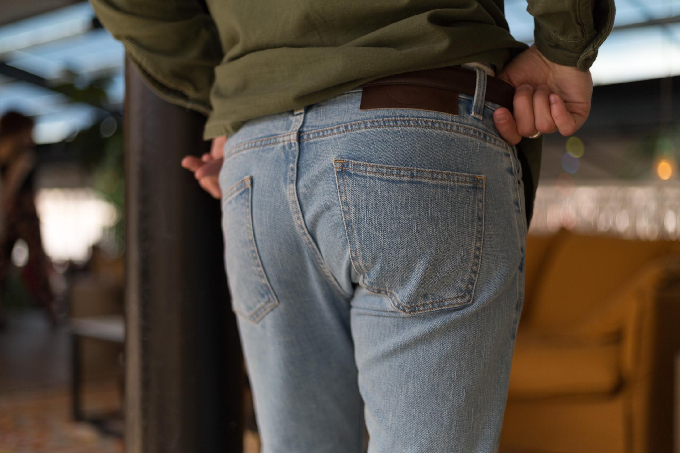 poche arriere jean asphalte