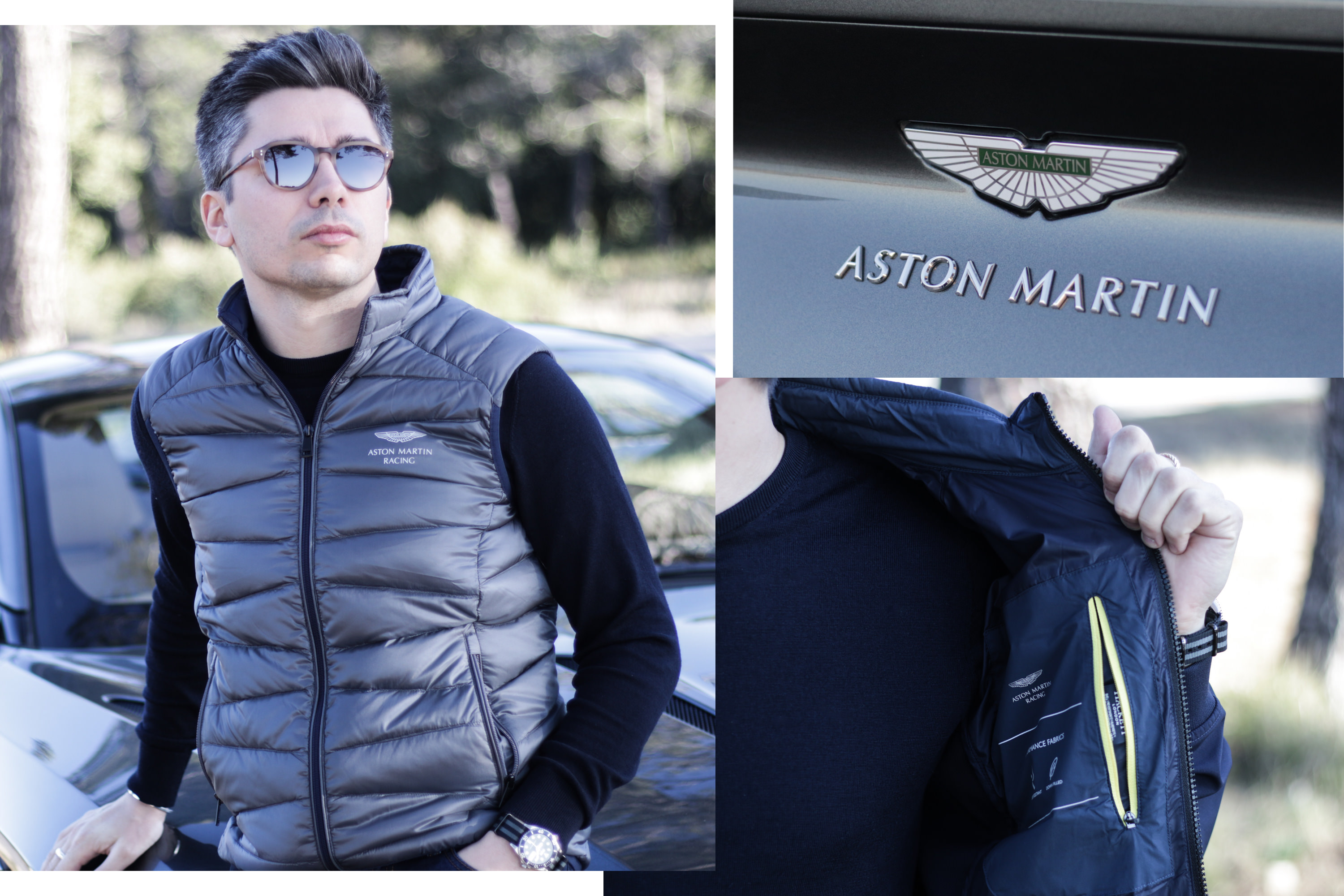 aston martin racing hackett collection 2018 gilet sans manches