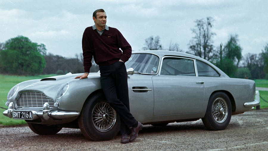 sean connery aston martin