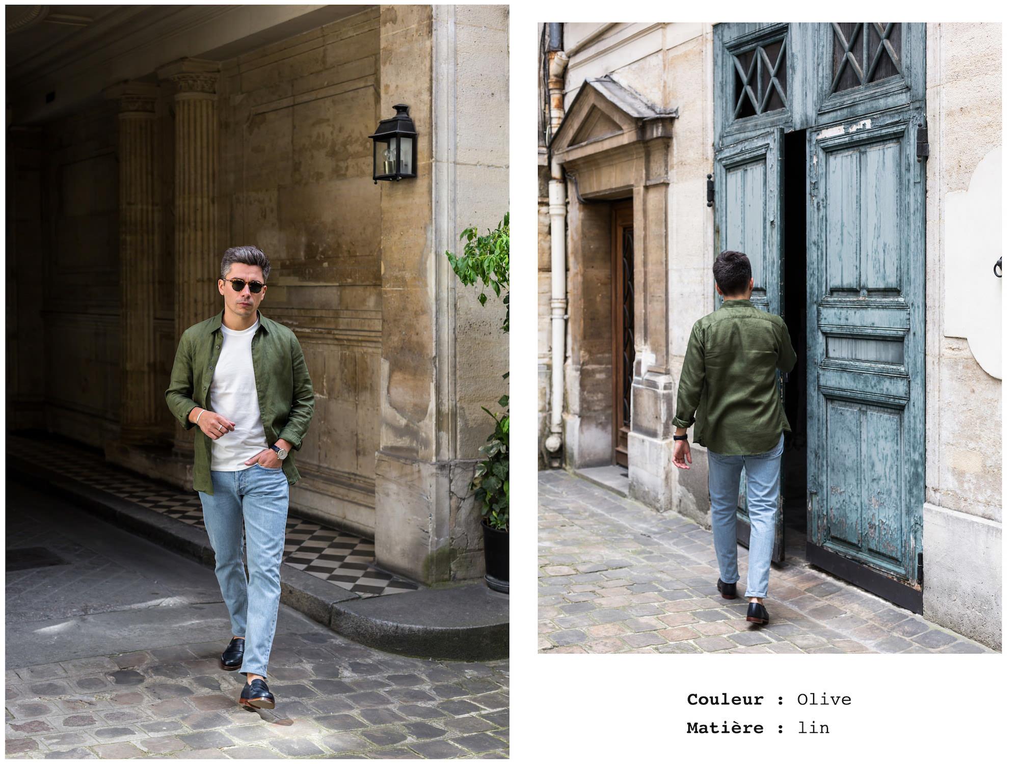 mode designer nouvelles photos comment acheter Comment et quand porter du lin quand on est un homme ?