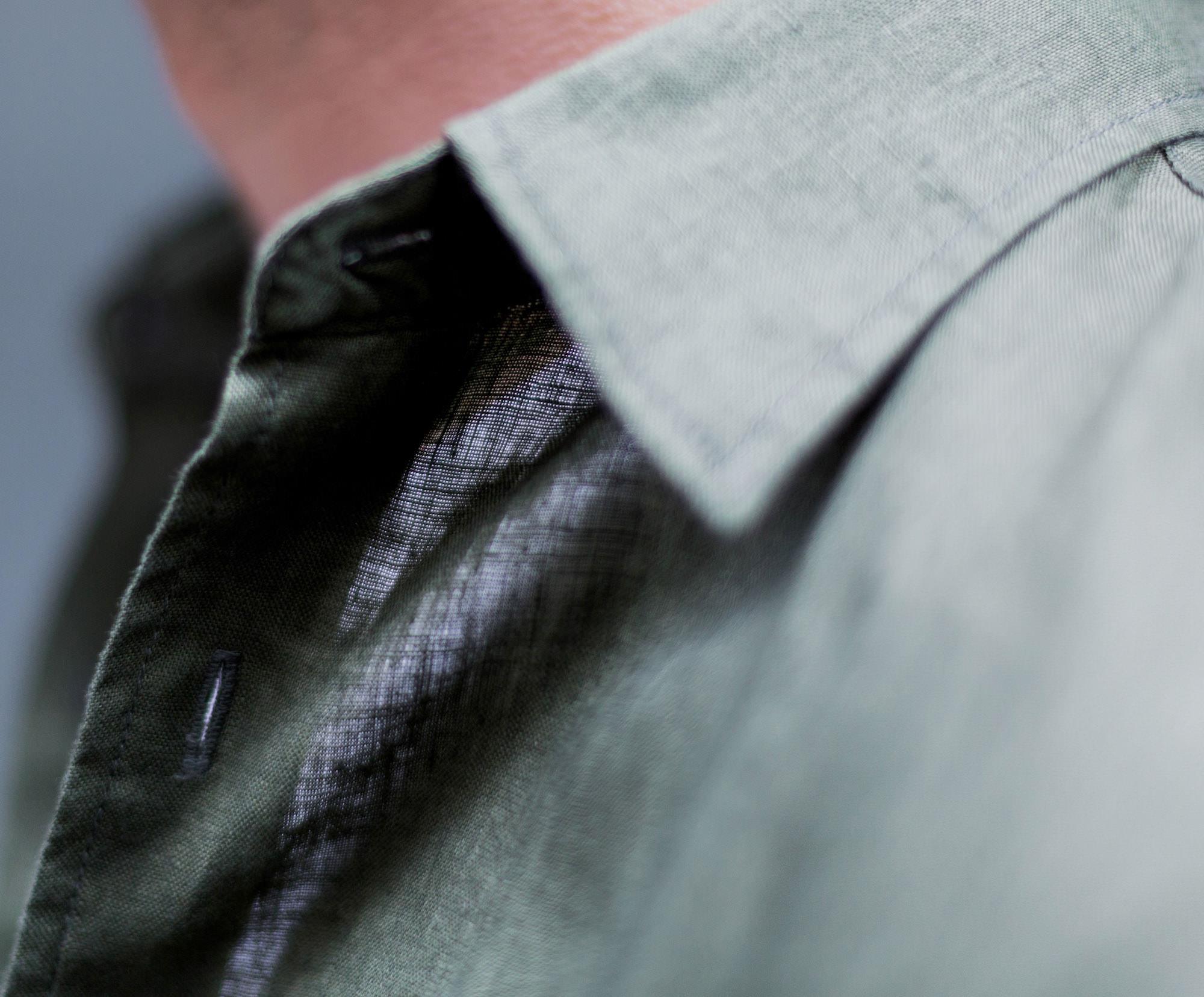 chemise uniqlo lin