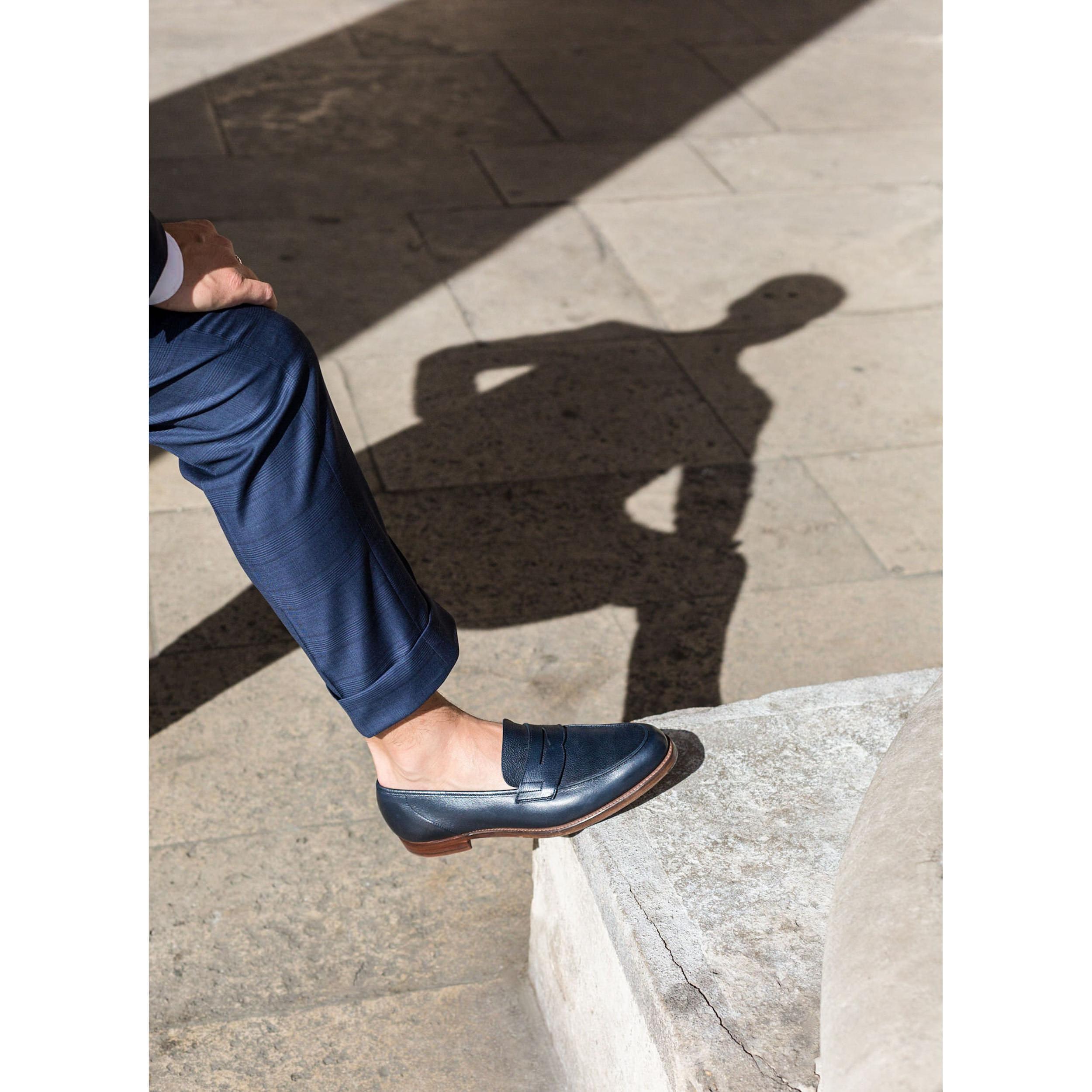 crockett jones richmond bleu