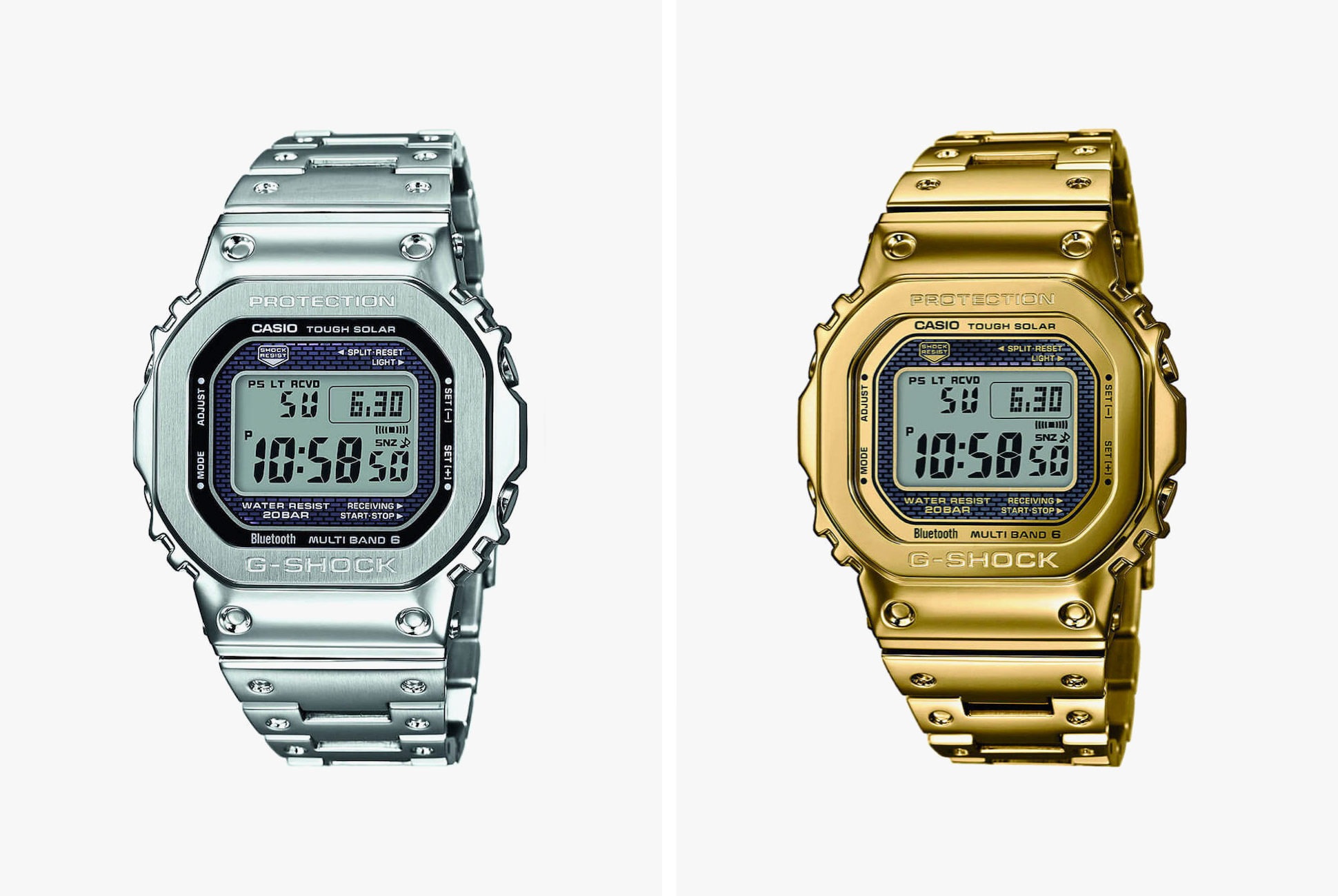 g shock gmw-b5000 gold steel