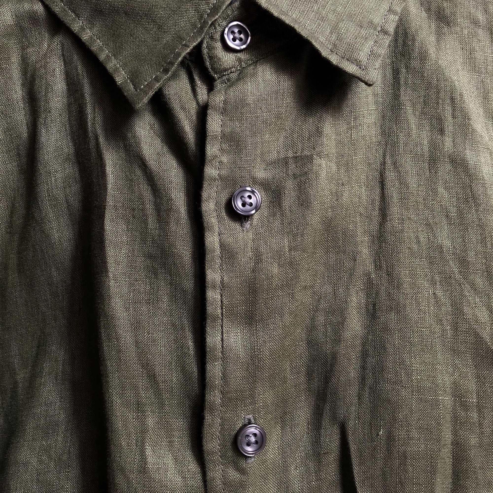 matière lin tissu chemise