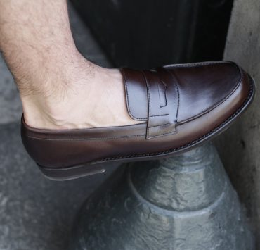 finsbury college mocassins homme marron