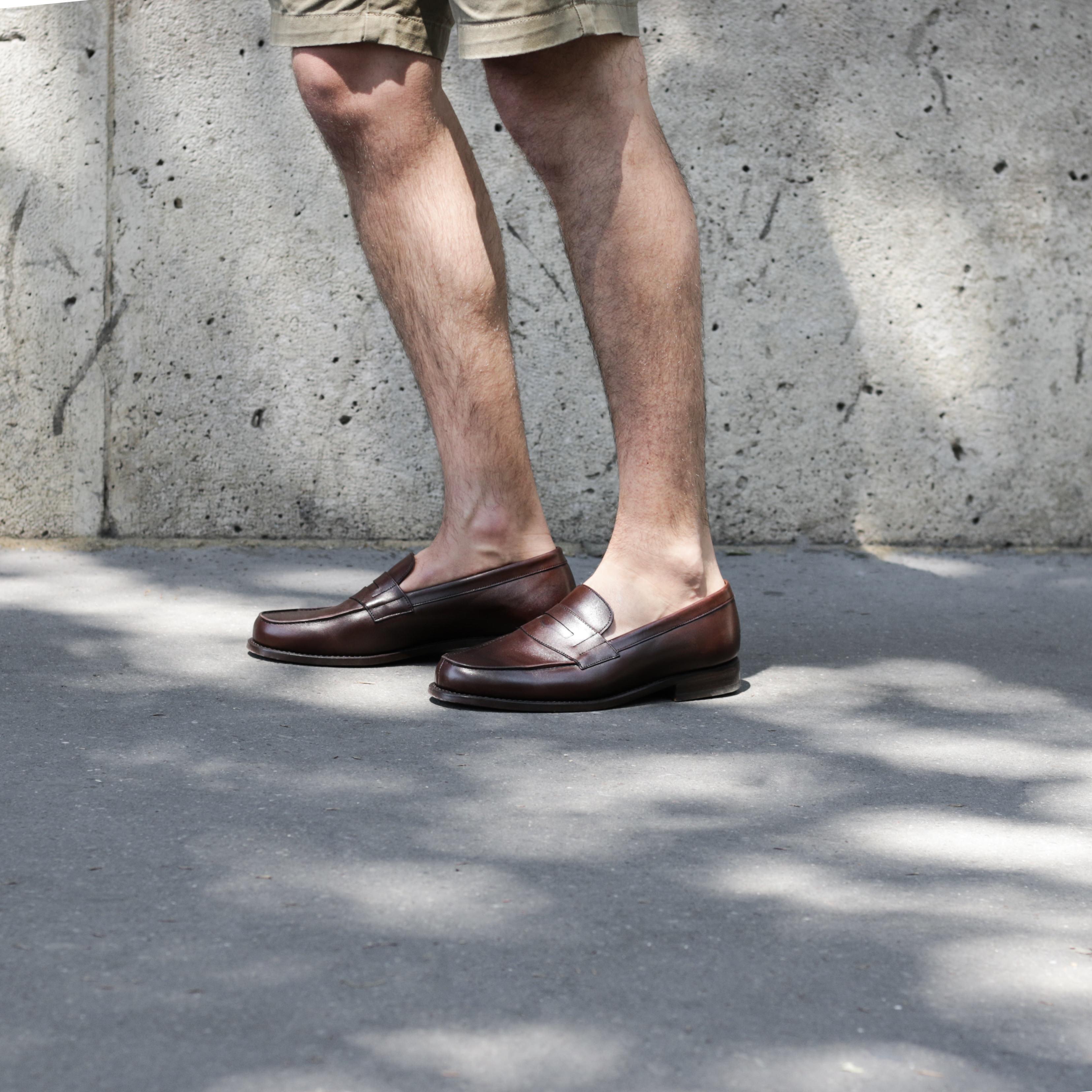 mocassins sans chaussettes