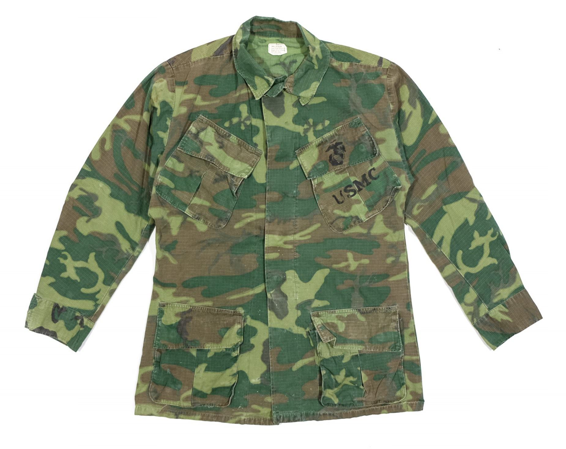 jungle jacket Type 3 vert usmc