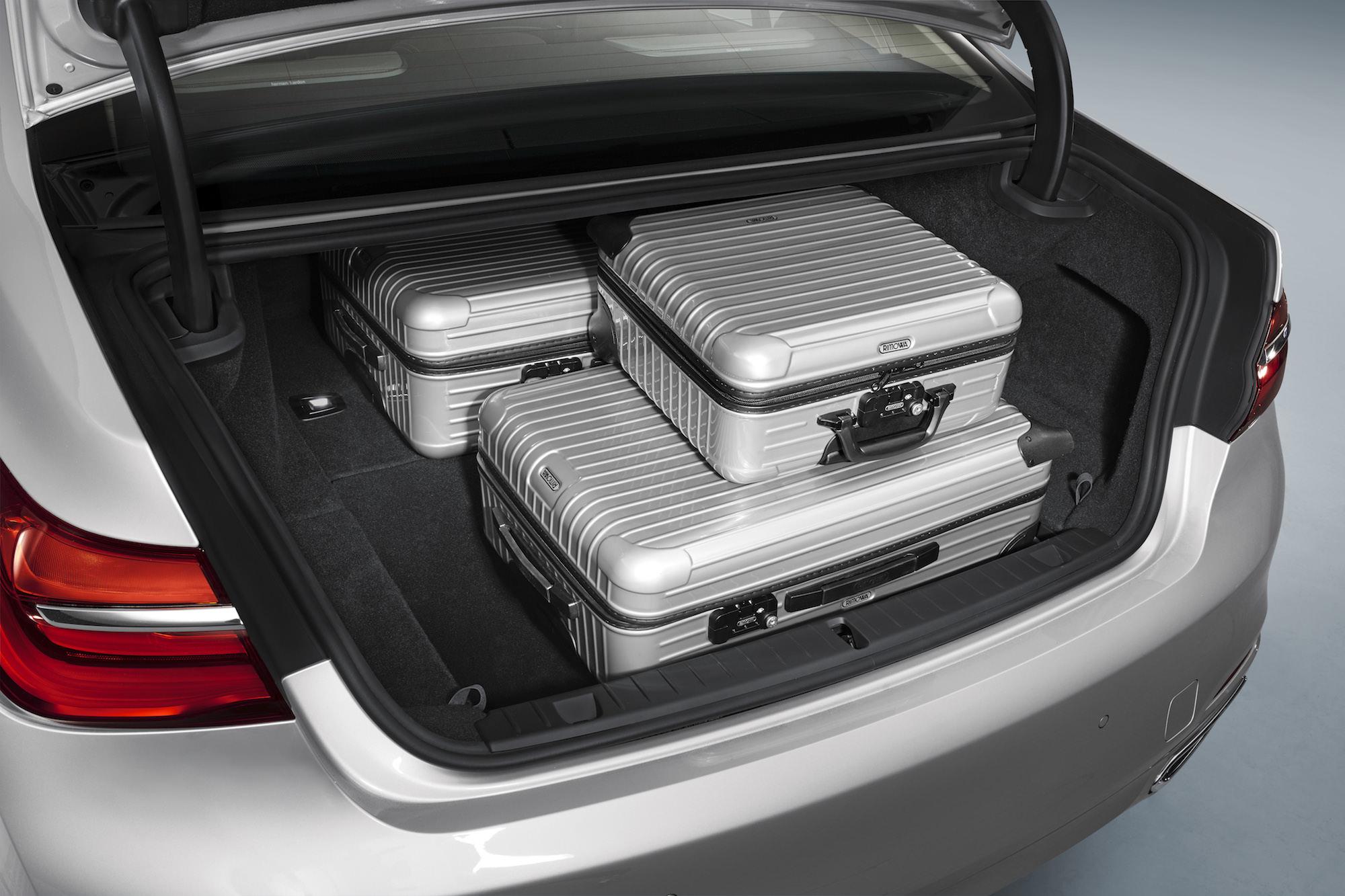 Coffre BMW 740e iPerformance